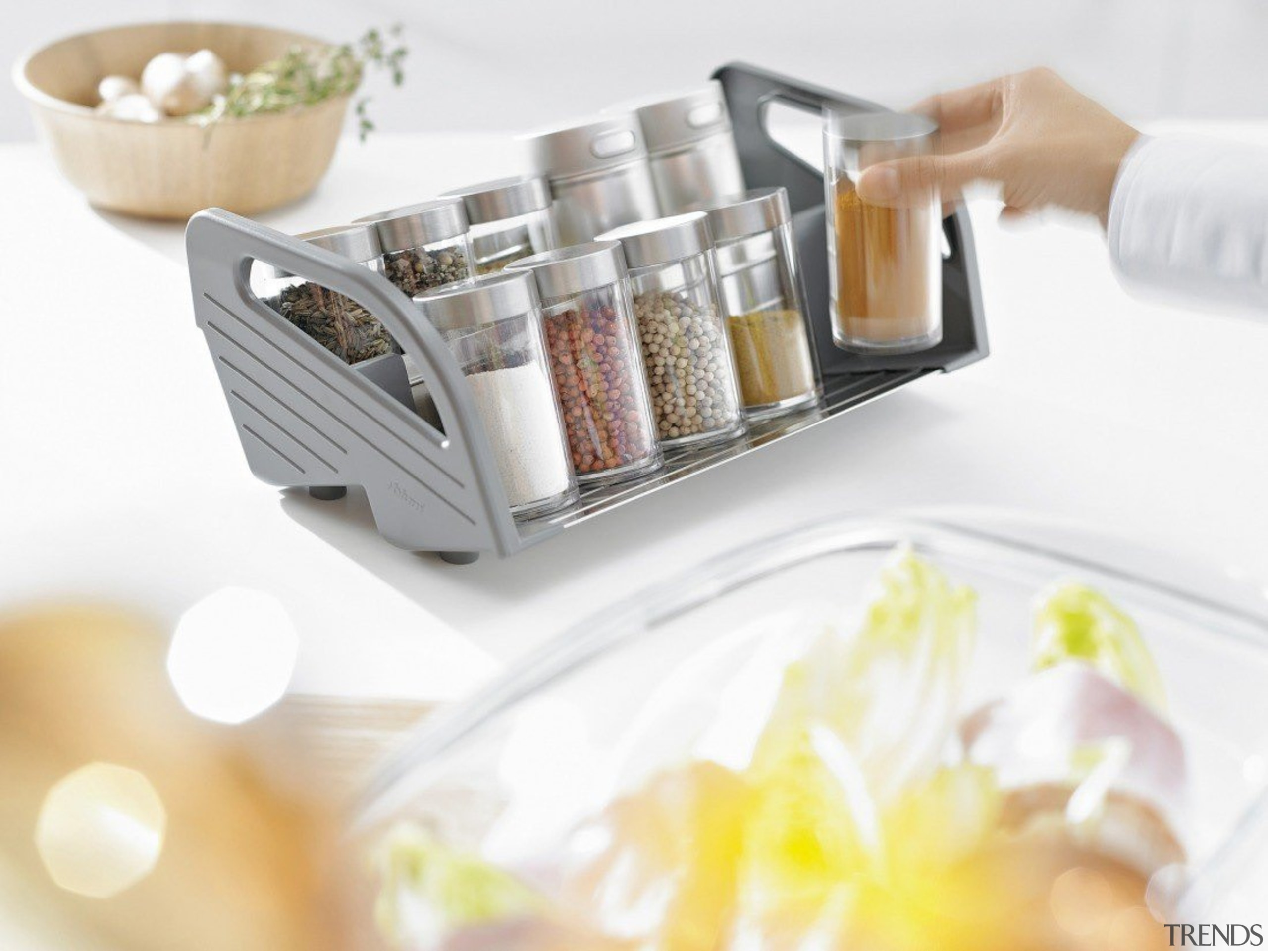 ORGA-LINE kitchen accessories – so many practical advantages. product, tableware, white