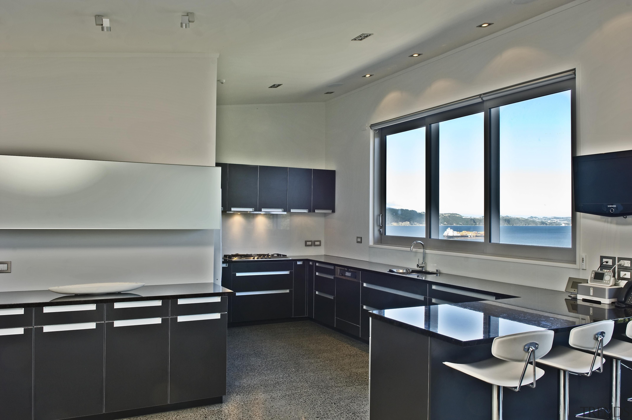 Wellington Kitchen Designer of the Year 2007National Kitchen interior design, kitchen, property, real estate, gray, black