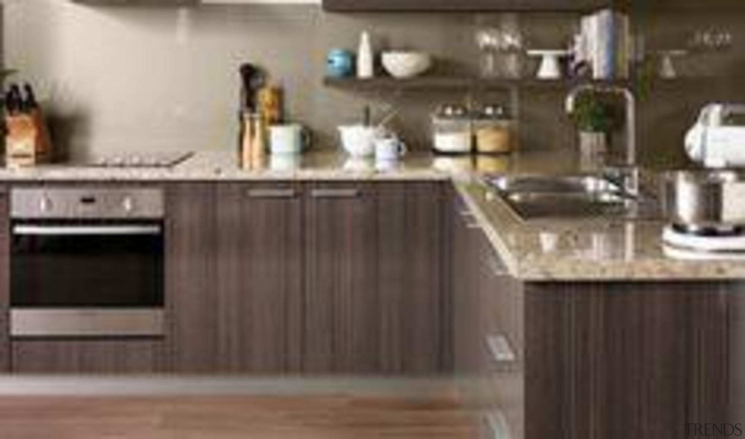 My Dream Kitchen : Inspiration Gallery : Gloss cabinetry, countertop, cuisine classique, hardwood, home appliance, interior design, kitchen, kitchen appliance, gray, brown