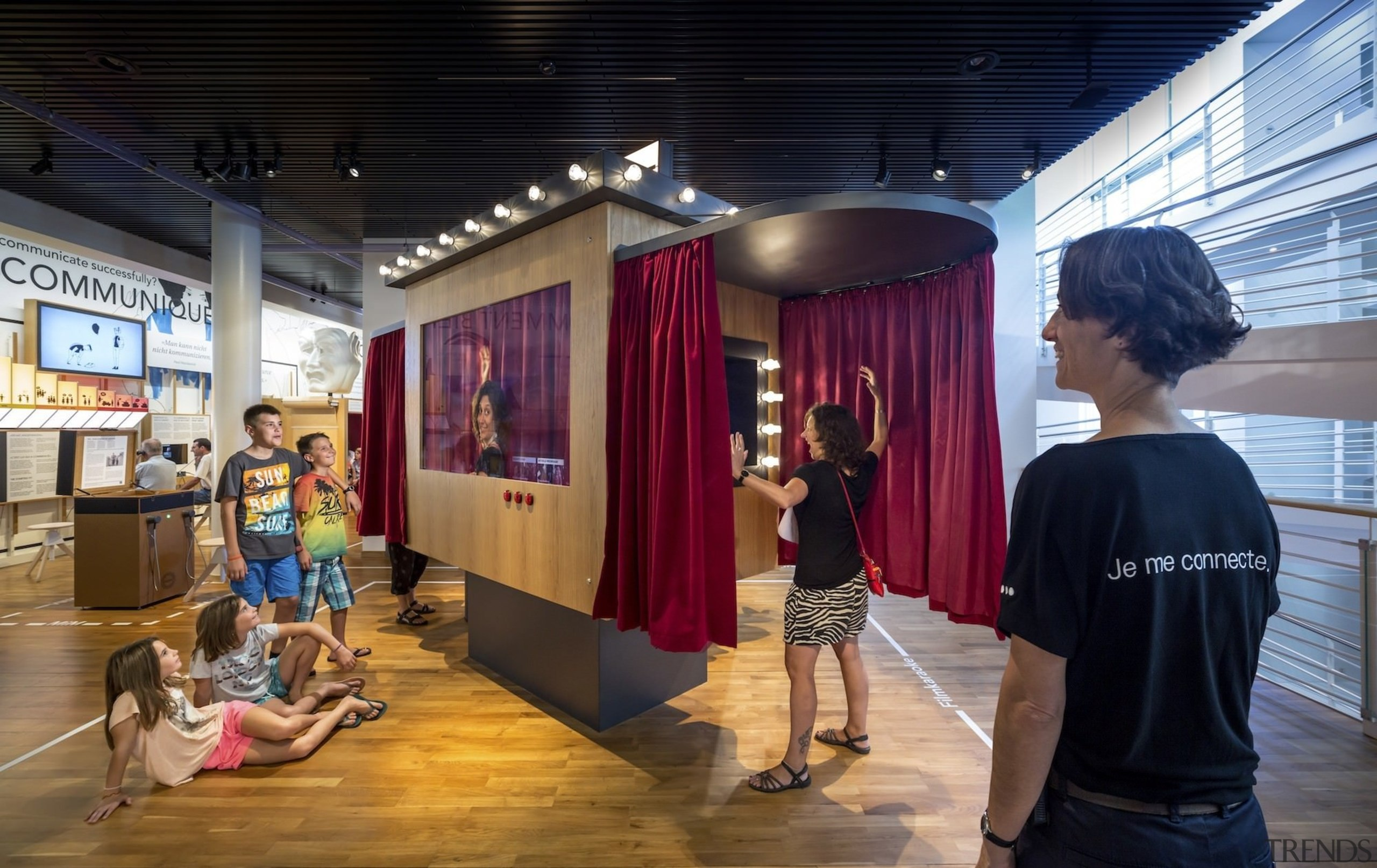 The new permanent exhibition at the Museum of exhibition, black