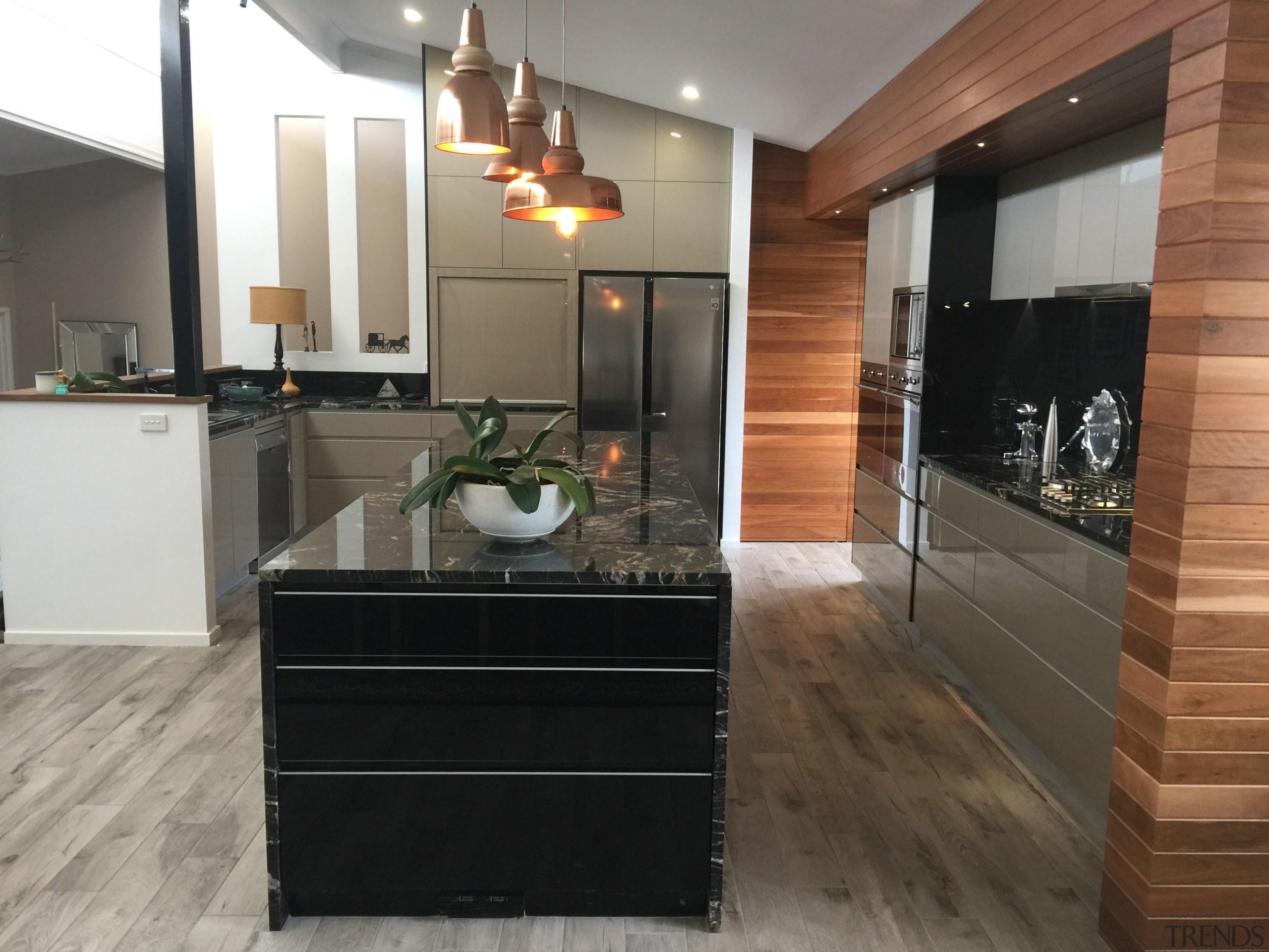 Centre Stage - Centre Stage - cabinetry | cabinetry, countertop, floor, flooring, hardwood, interior design, kitchen, laminate flooring, room, wood flooring, black