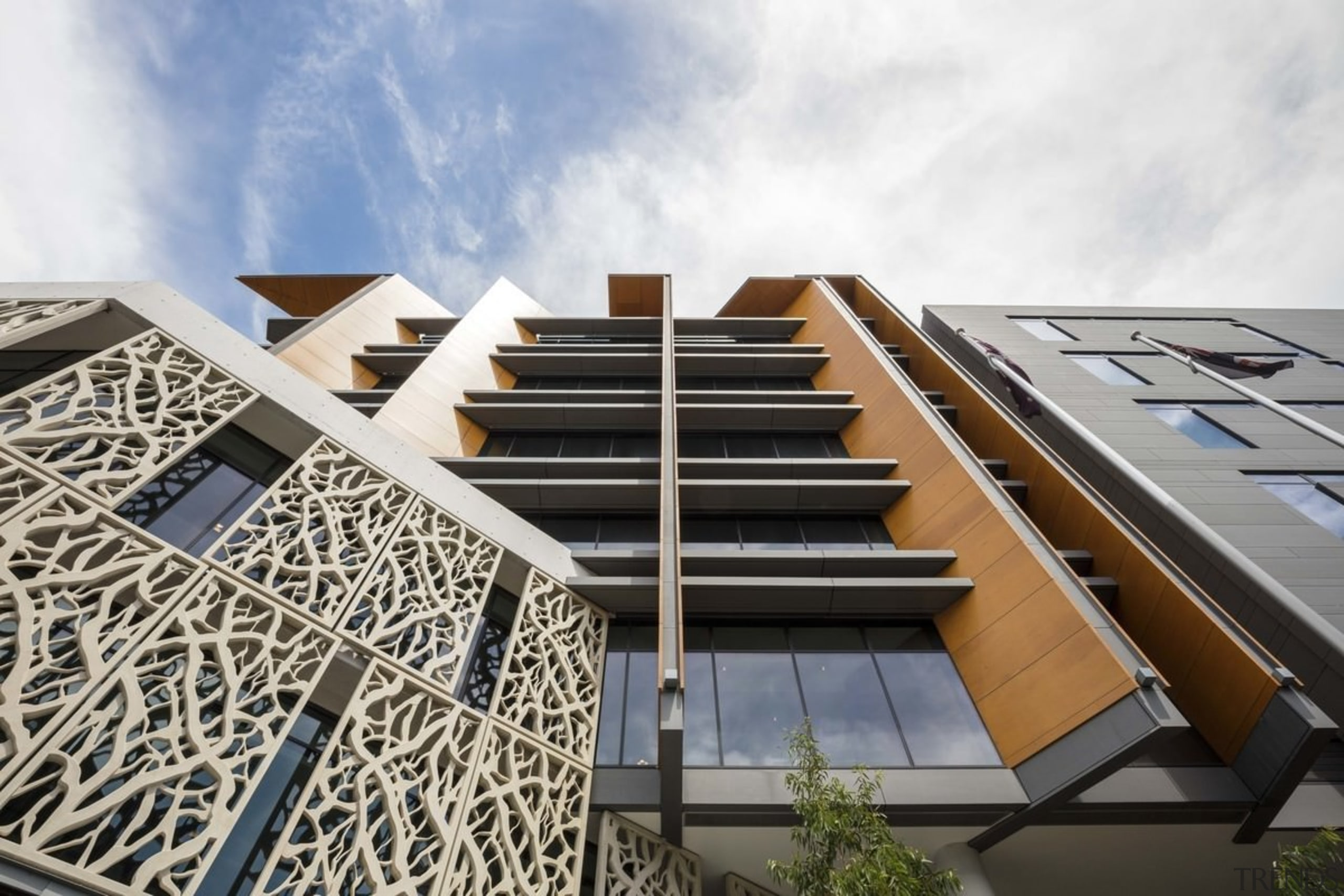 Newcastle Courthouse – Cox Architecture - Newcastle Courthouse apartment, architecture, building, commercial building, condominium, corporate headquarters, daylighting, facade, mixed use, residential area, sky, white, gray