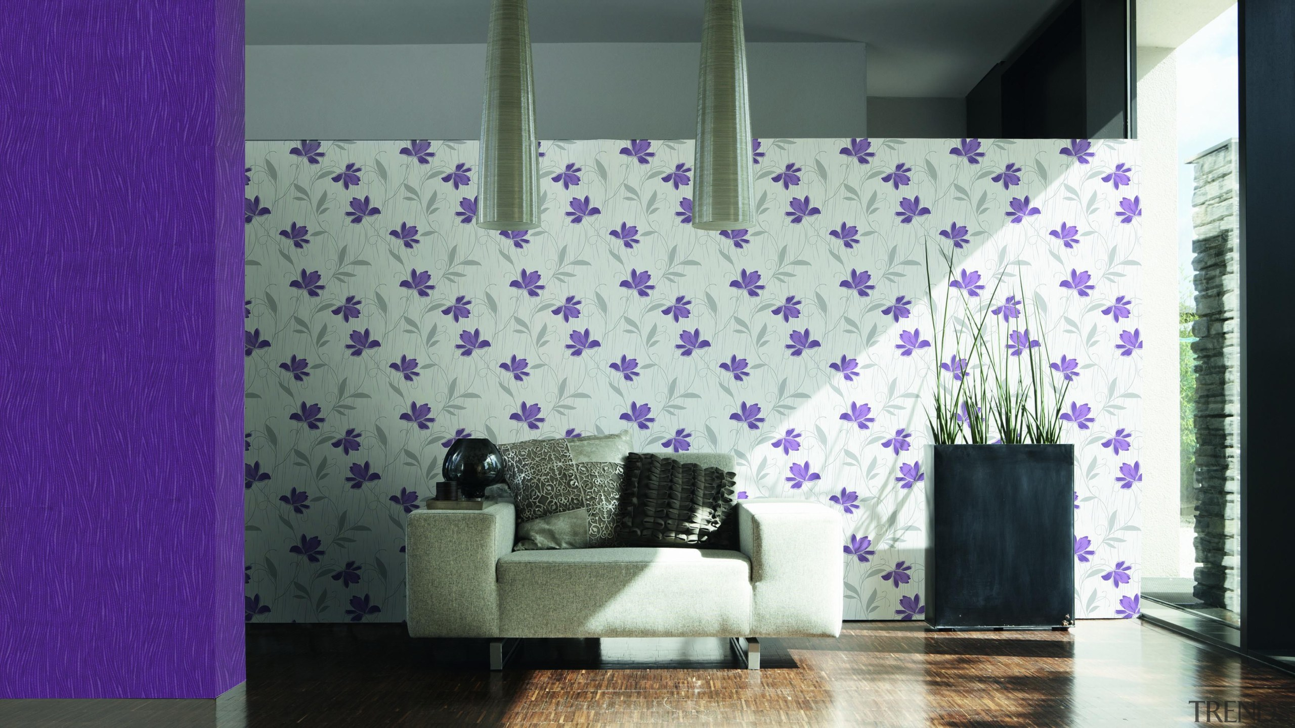Chicago Range - Chicago Range - architecture | architecture, ceiling, flooring, interior design, pattern, purple, textile, wall, wallpaper, window, white