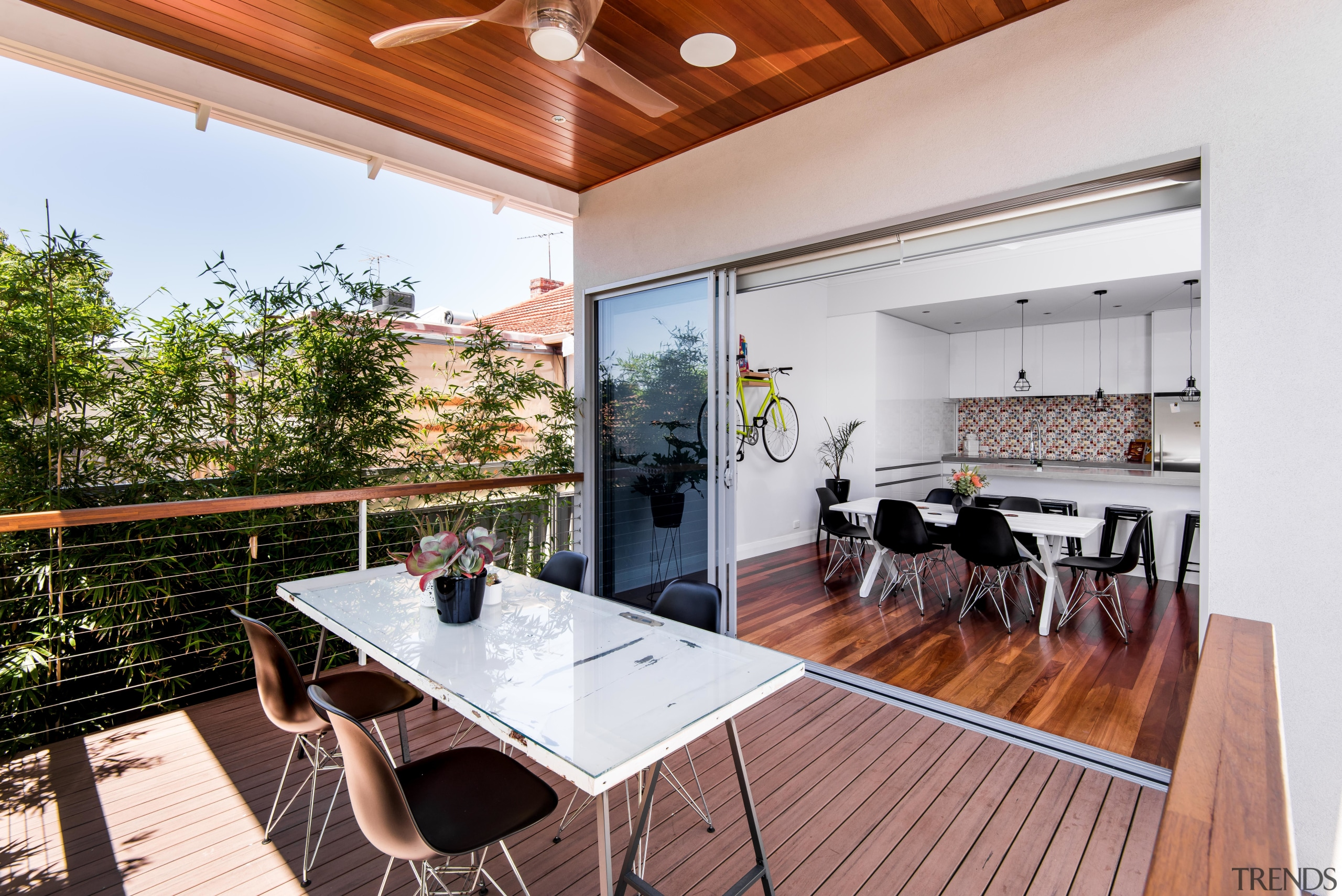 Bright and light - architecture | building | architecture, building, ceiling, dining room, estate, floor, furniture, hardwood, home, house, interior design, property, real estate, roof, room, table, wood, wood flooring, white