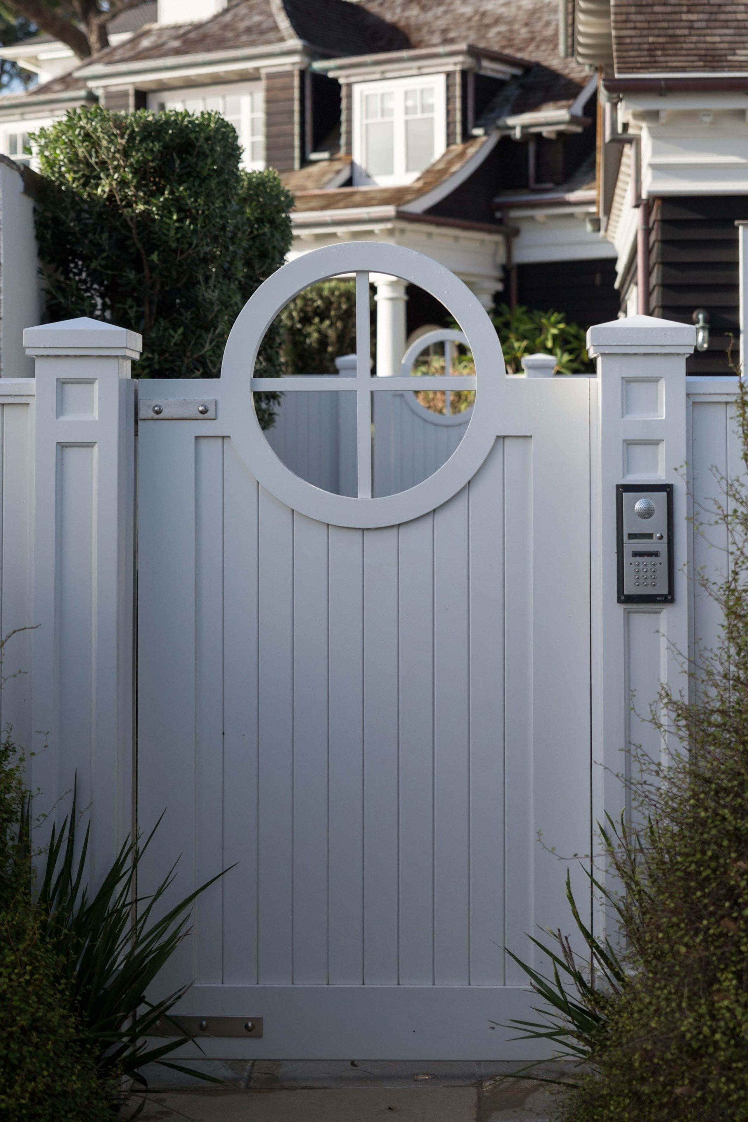 Gate - door | fence | gate | door, fence, gate, home, home fencing, house, gray, black