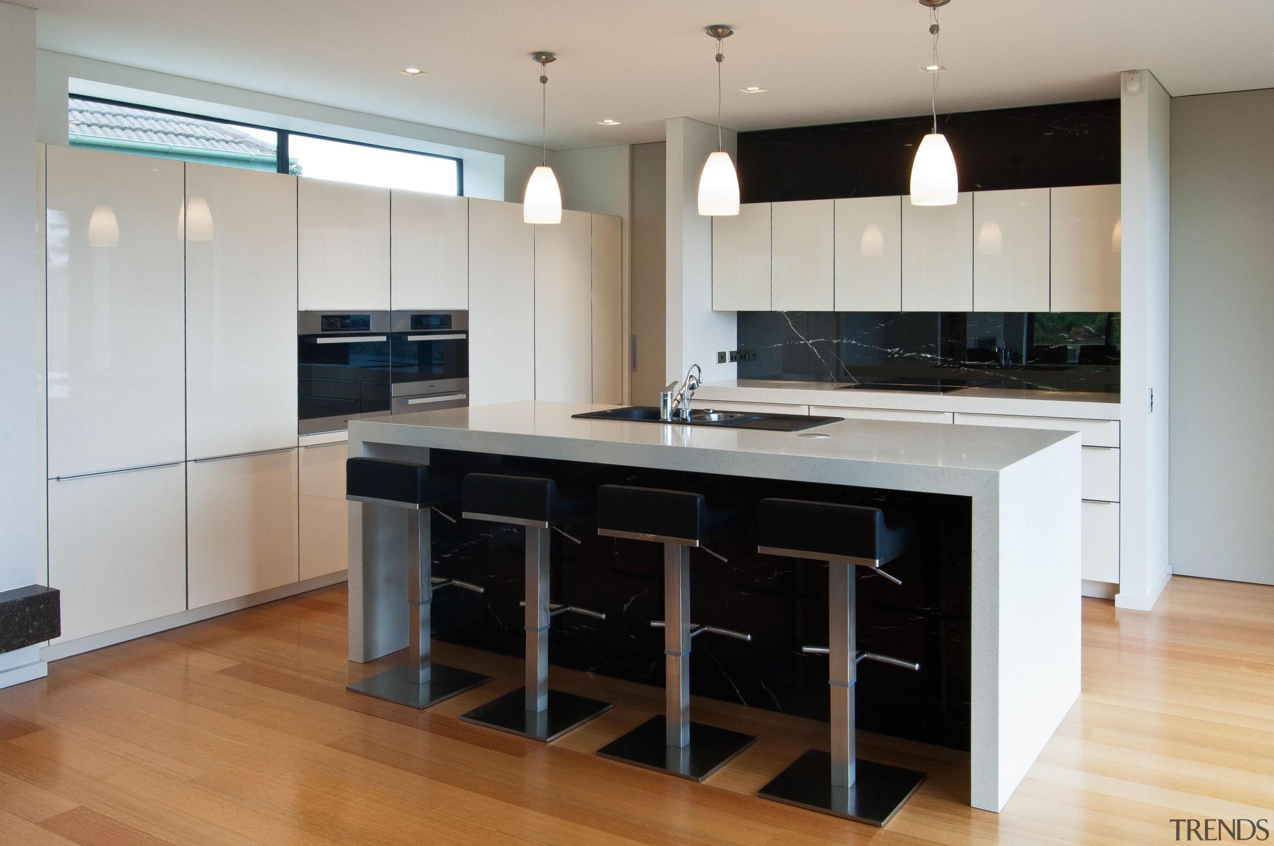 Khandallah Kitchen - Khandallah Kitchen - cabinetry | cabinetry, countertop, cuisine classique, floor, flooring, hardwood, interior design, kitchen, room, wood flooring, gray