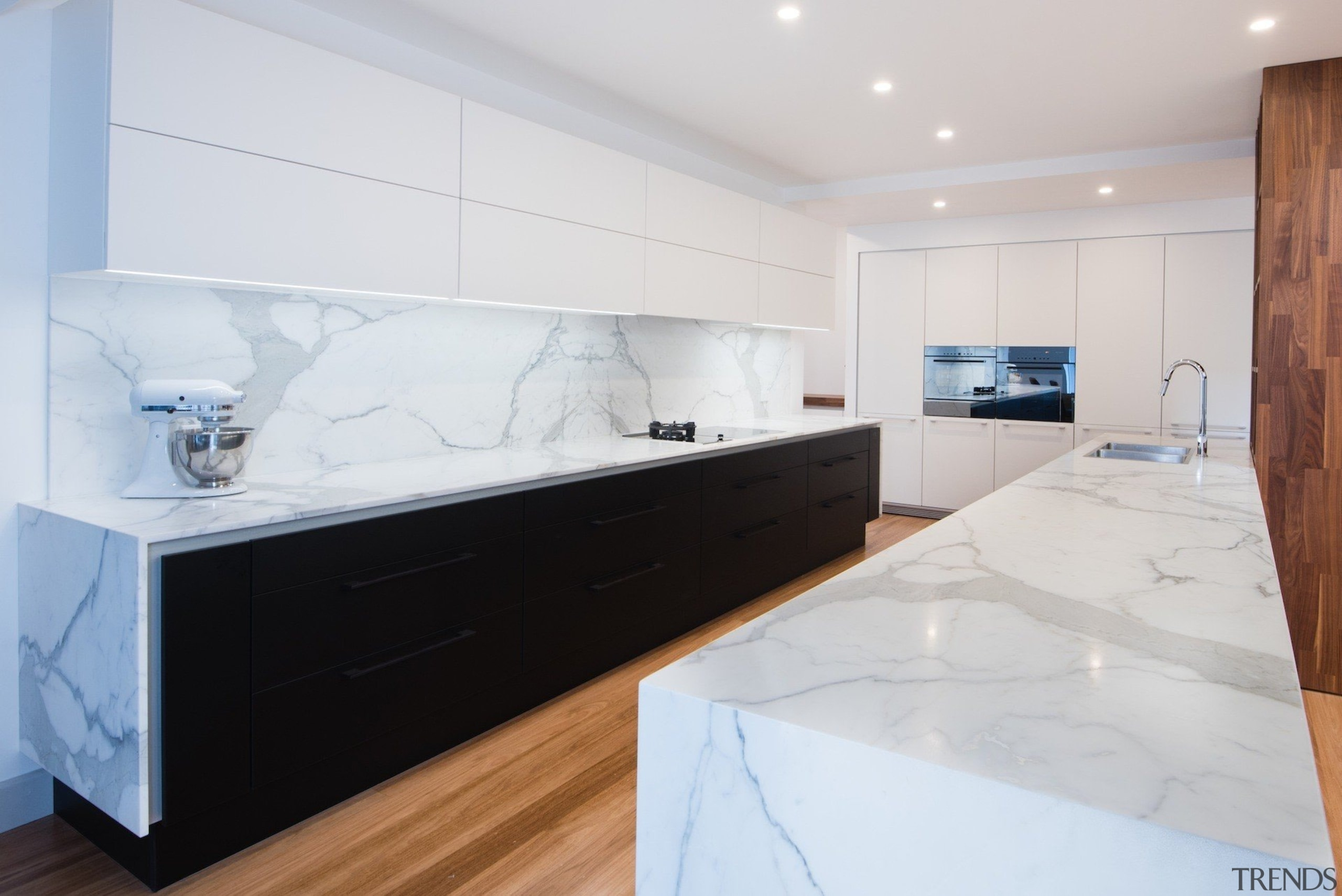 Highly Commended – Pepper Design 1 - countertop countertop, floor, interior design, kitchen, property, room, white, gray