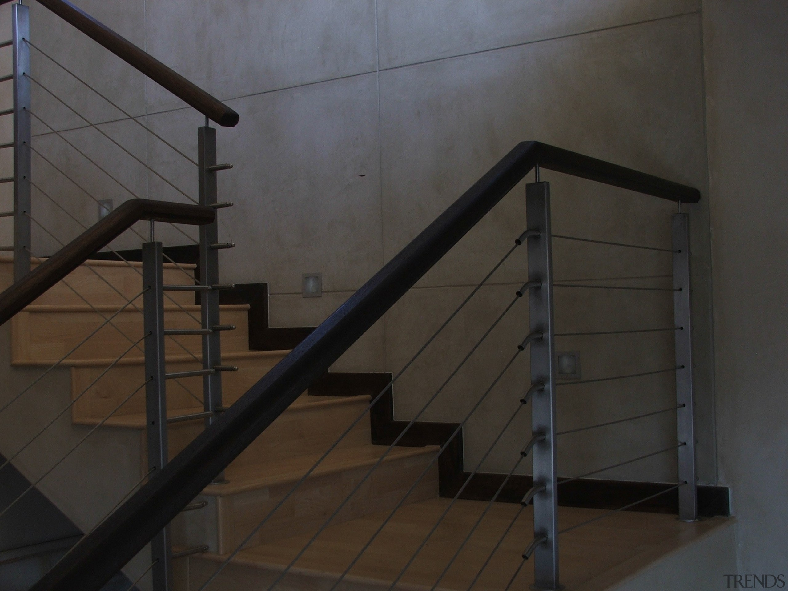 Micro Topping 31 - Micro Topping_31 - glass glass, handrail, iron, material, stairs, steel, structure, black