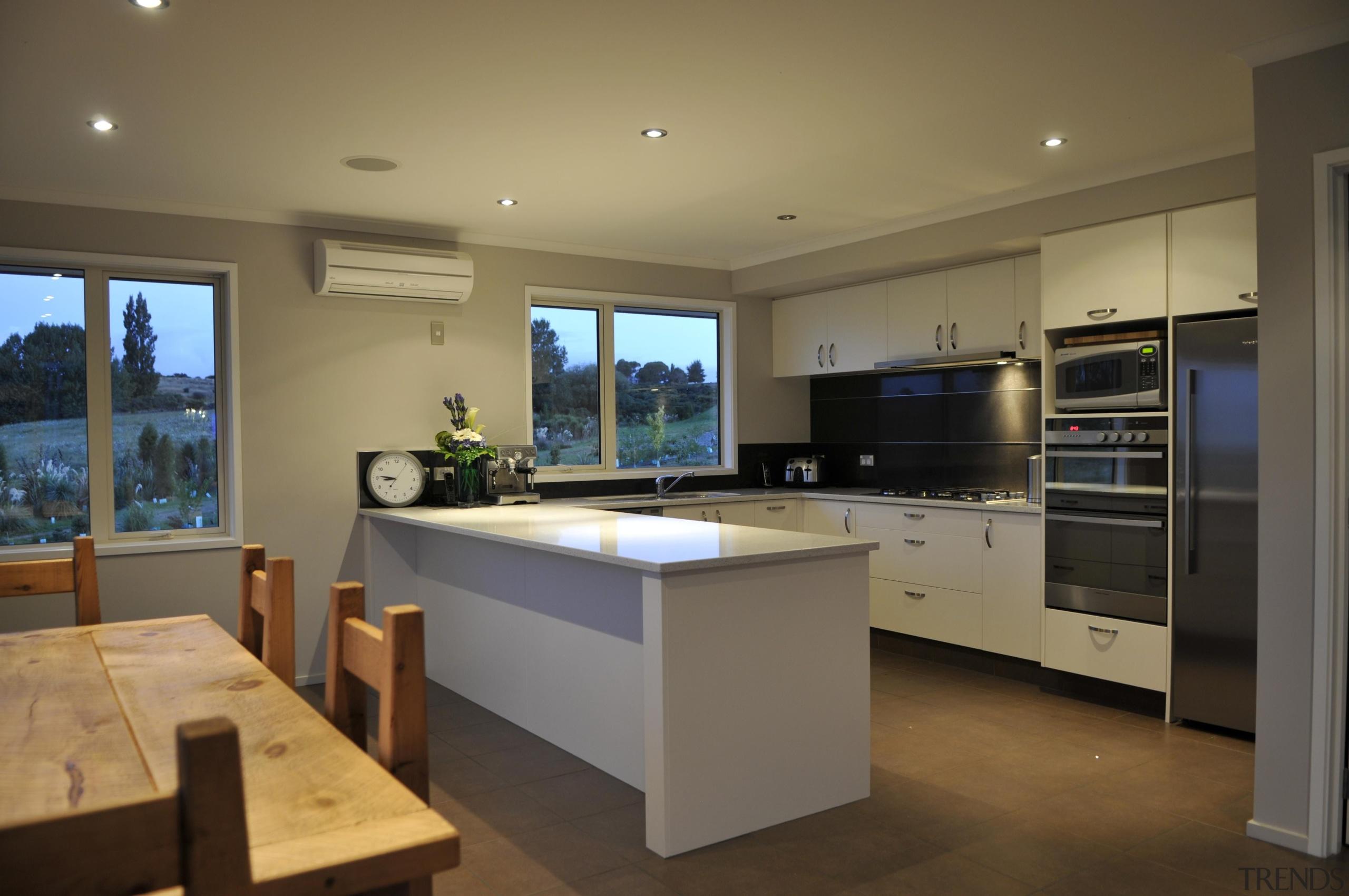 For more information, please visit www.gjgardner.co.nz countertop, interior design, kitchen, real estate, room, brown