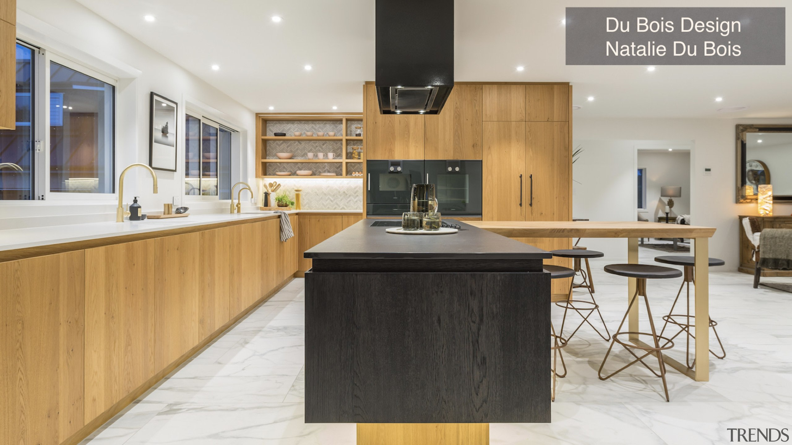 Highly Commended – Du Bois Design, Natalie Du countertop, cuisine classique, interior design, kitchen, real estate, white