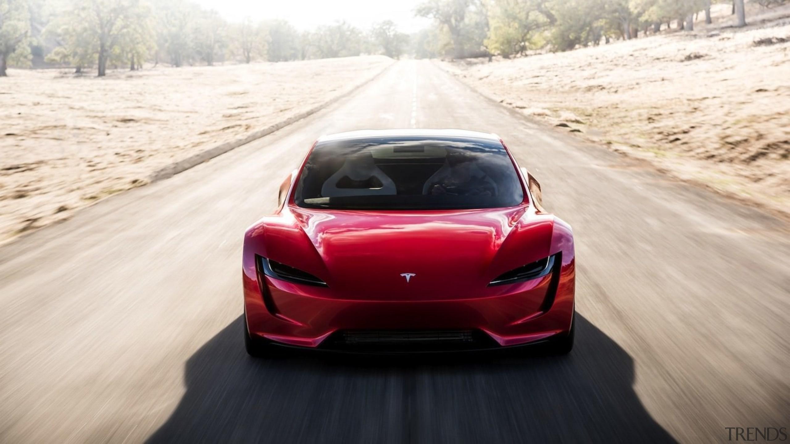 Tesla's new Roadster - Tesla's new Roadster - automotive design, automotive exterior, car, computer wallpaper, concept car, land vehicle, luxury vehicle, mid size car, motor vehicle, performance car, personal luxury car, race car, sports car, supercar, vehicle, white