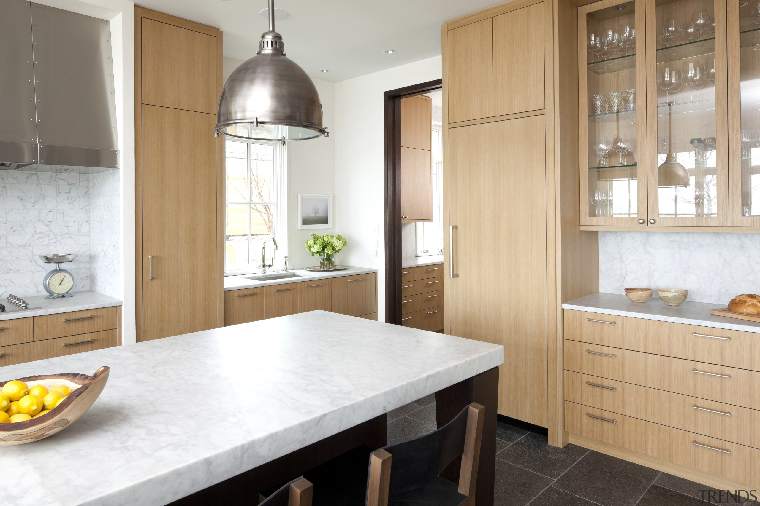 Traditional style new home - Traditional style new cabinetry, countertop, cuisine classique, floor, home, interior design, kitchen, property, real estate, room, white, orange