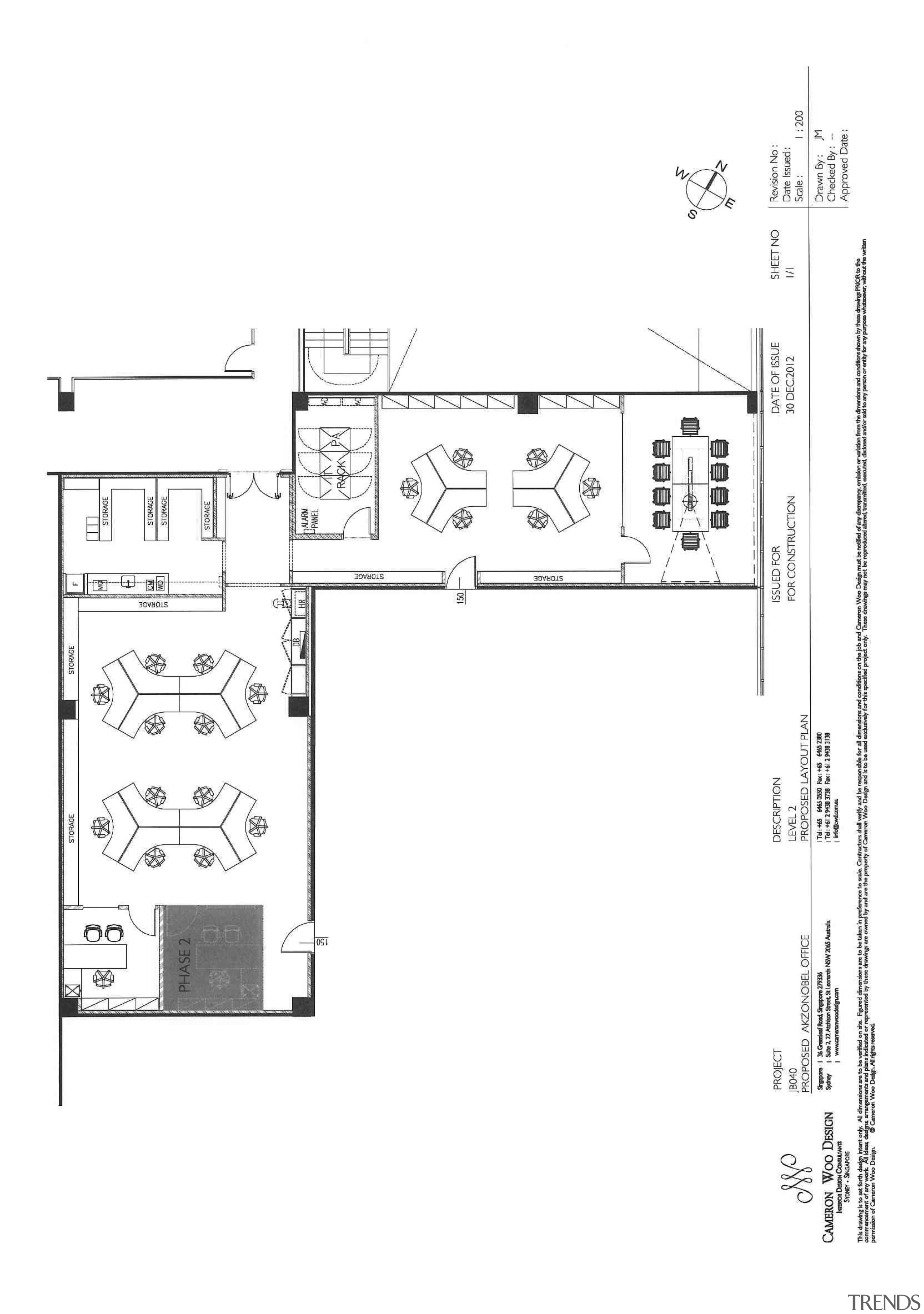 AkzoNobel House (Singapore) Interior design - AkzoNobel House area, artwork, black and white, design, diagram, drawing, floor plan, font, line, plan, product, product design, schematic, structure, technical drawing, text, white
