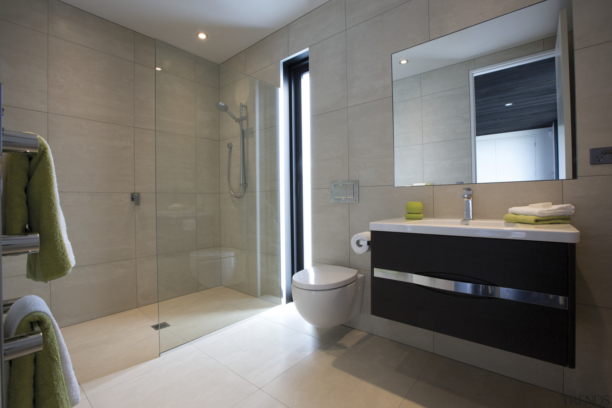 bathroom at The Life at Home street of bathroom, home, interior design, property, real estate, room, gray