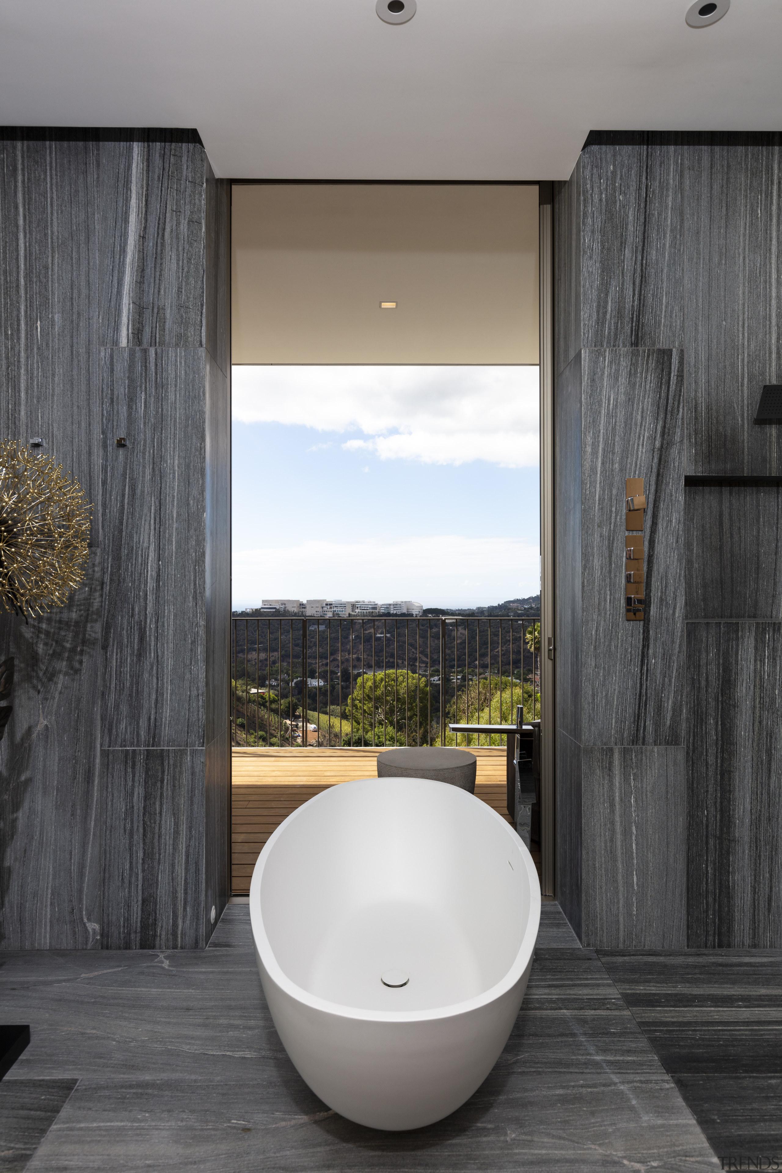 The ensuite for the guest 'mini master' in architecture, bathroom, ensuite, bathtub, home, house, interior design, plumbing fixture, SPFa