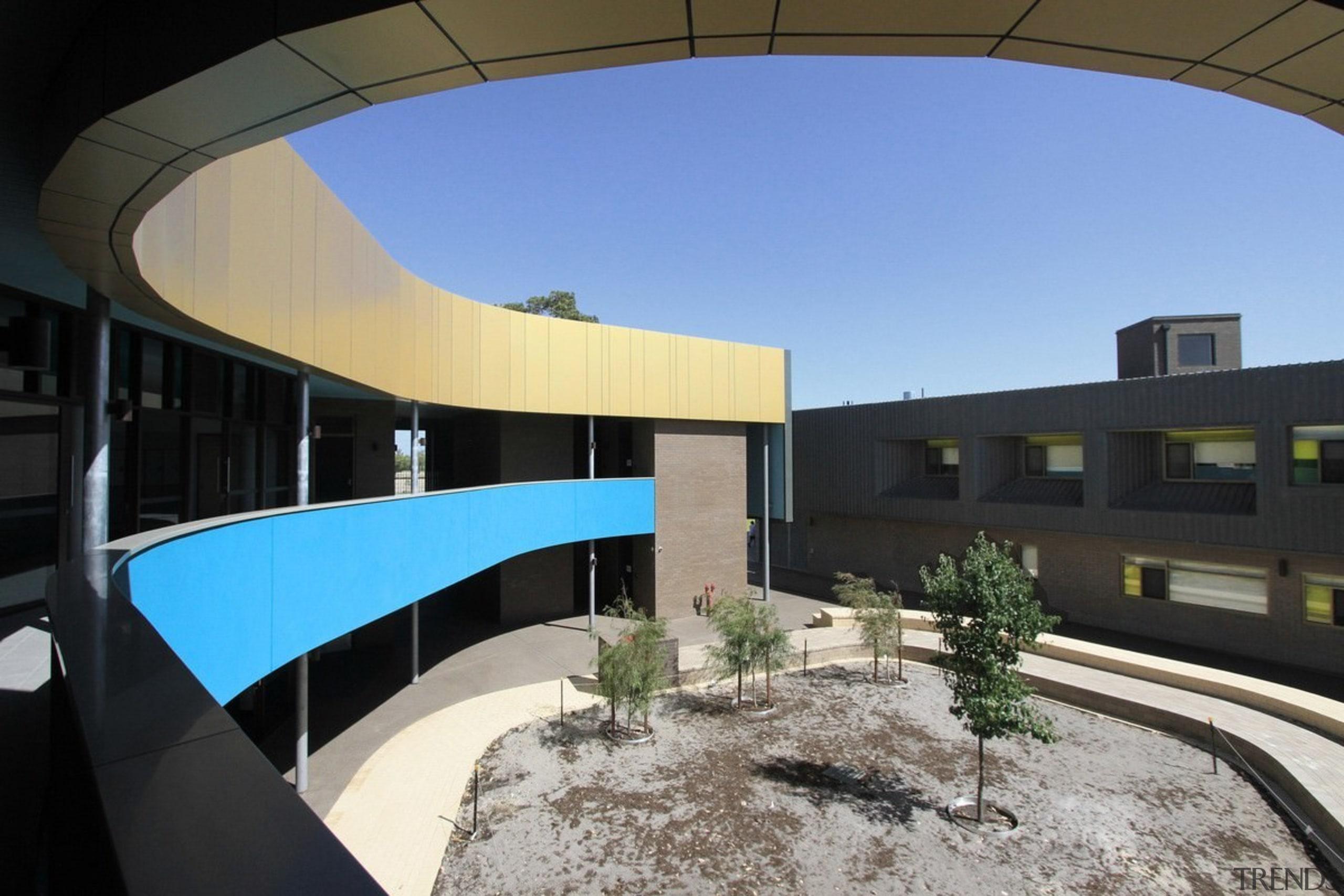 Bunbury Catholic College – Mercy Campus - Bunbury apartment, architecture, building, corporate headquarters, house, real estate, black, teal