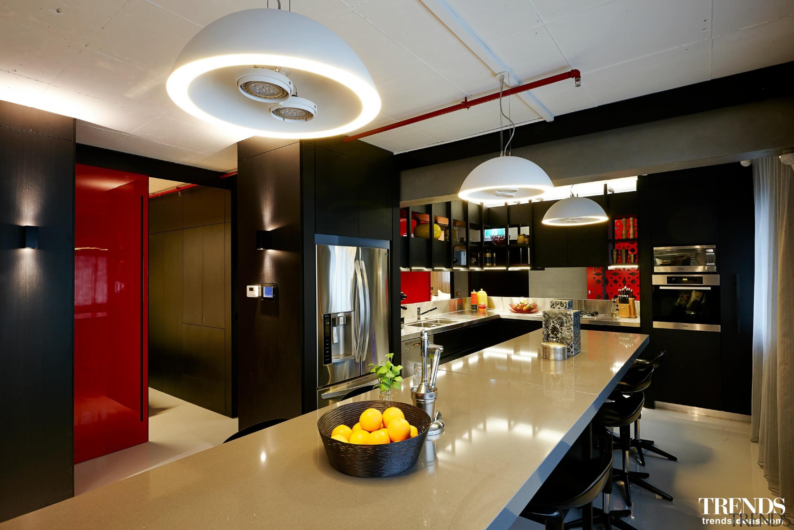 Daniel Ash Architects – 2015 TIDA Australia Kitchens countertop, interior design, kitchen, black, gray