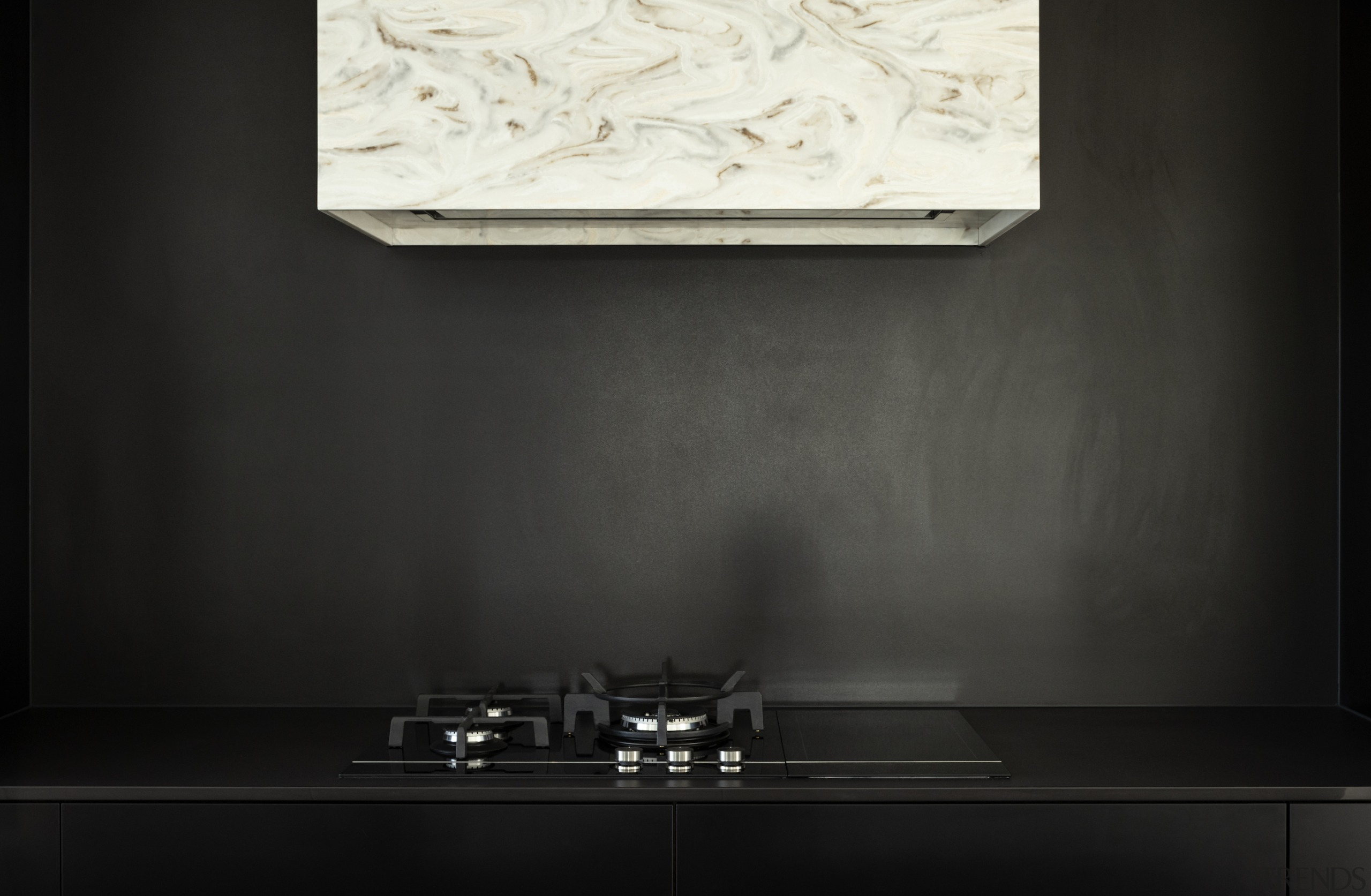 Black Sage cabinetry – along with dark Dekton