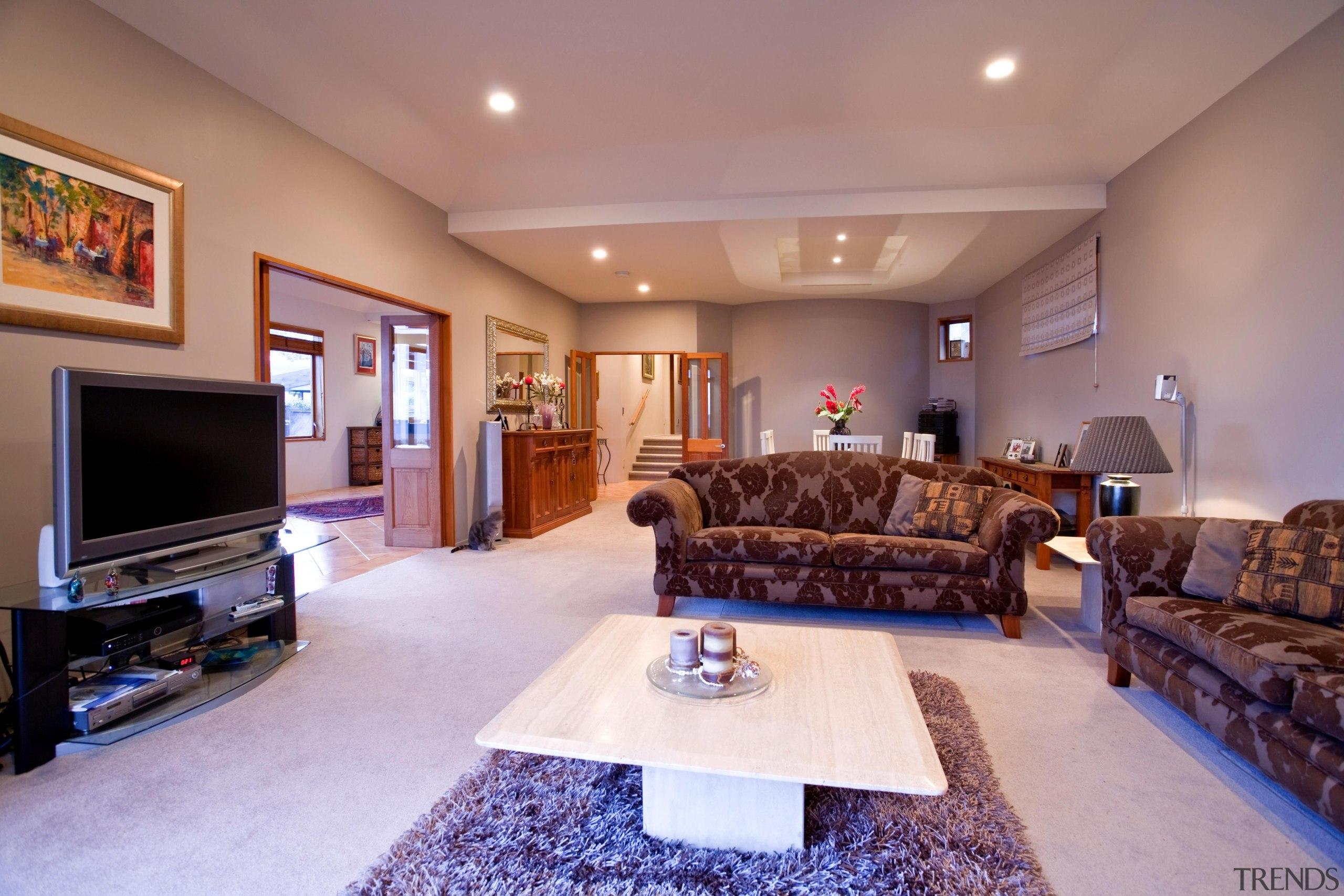 Living - ceiling | estate | home | ceiling, estate, home, interior design, living room, property, real estate, room, red