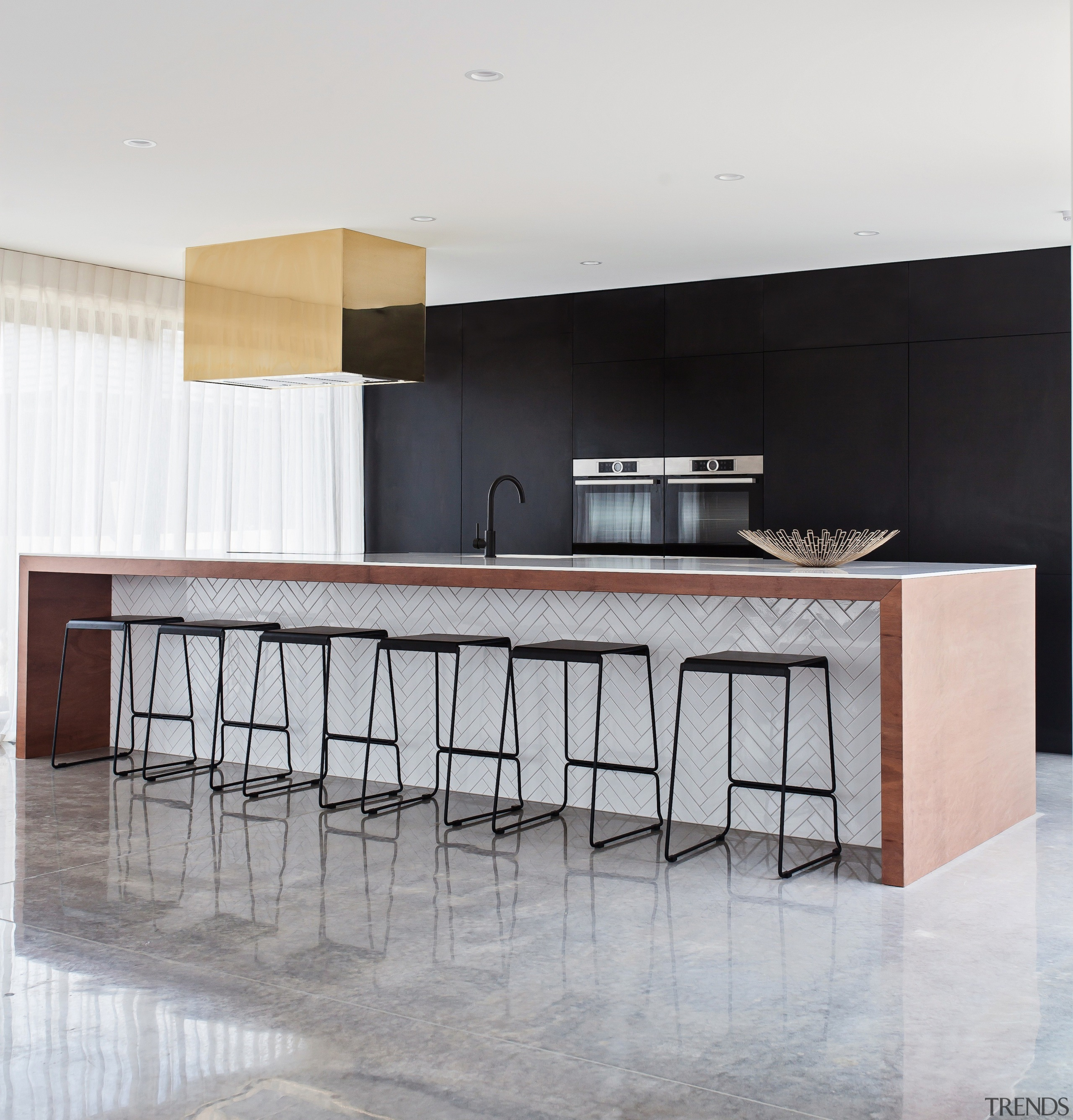 TIDA New Zealand Kitchens – proudly brought to architecture, chair, countertop, floor, flooring, furniture, interior design, kitchen, product design, table, gray, white