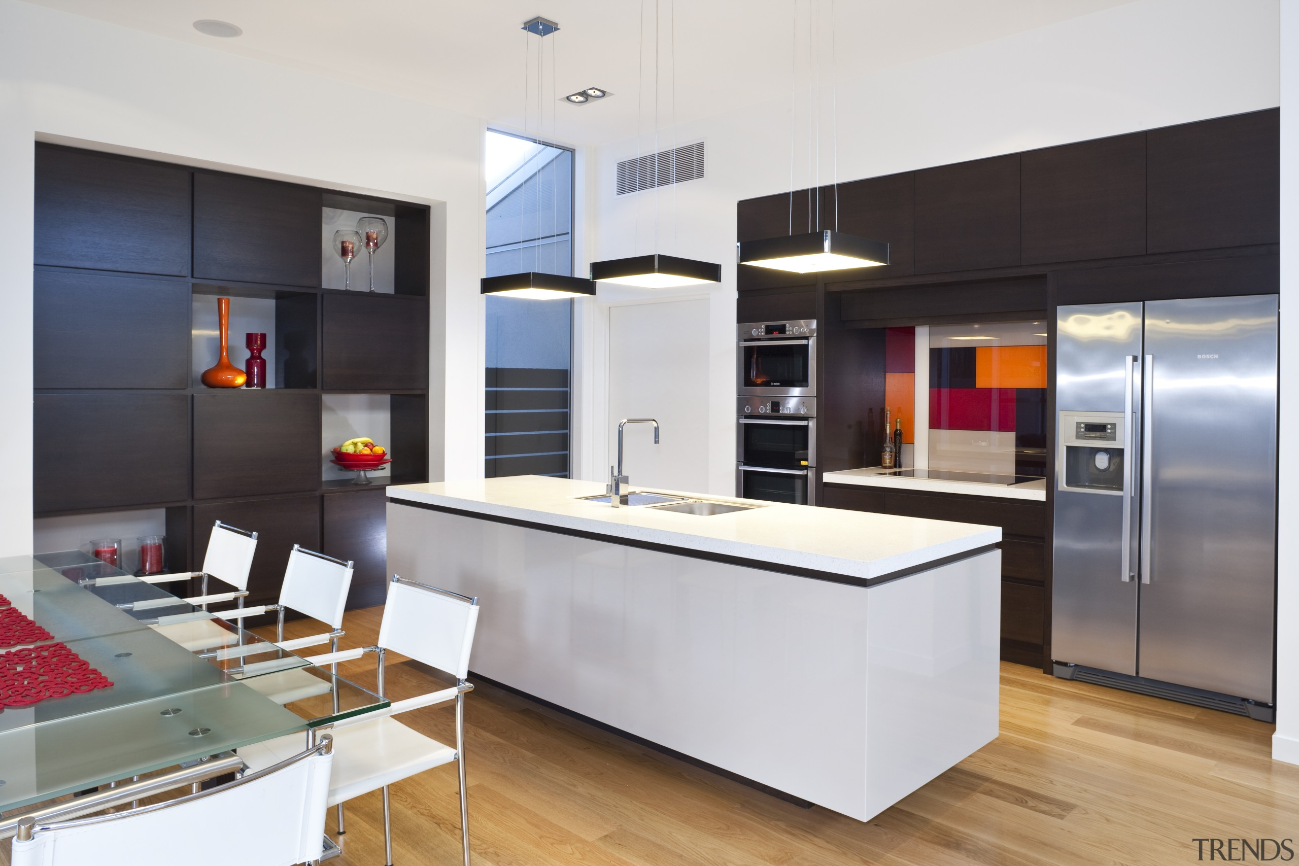 This upmarket bespoke cabinetry project by RH Cabinetmakers countertop, kitchen, white, cabinetry, storage, timber, bespoke cabinetry, RH Cabinetmakers