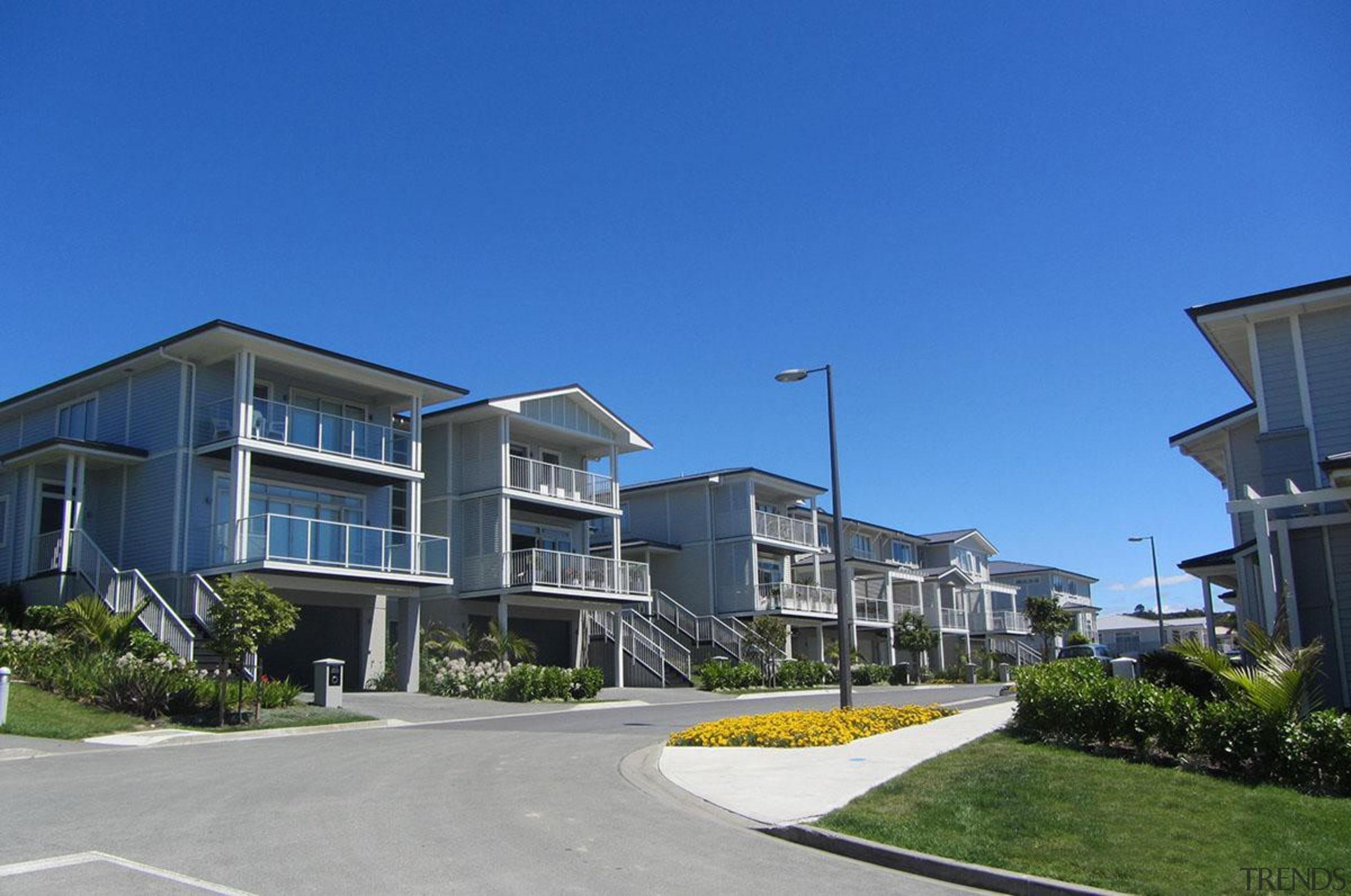 NOMINEEKensington Park (2 of 4) - Arrow International apartment, building, condominium, corporate headquarters, estate, home, house, metropolitan area, mixed use, neighbourhood, property, real estate, residential area, sky, suburb, blue
