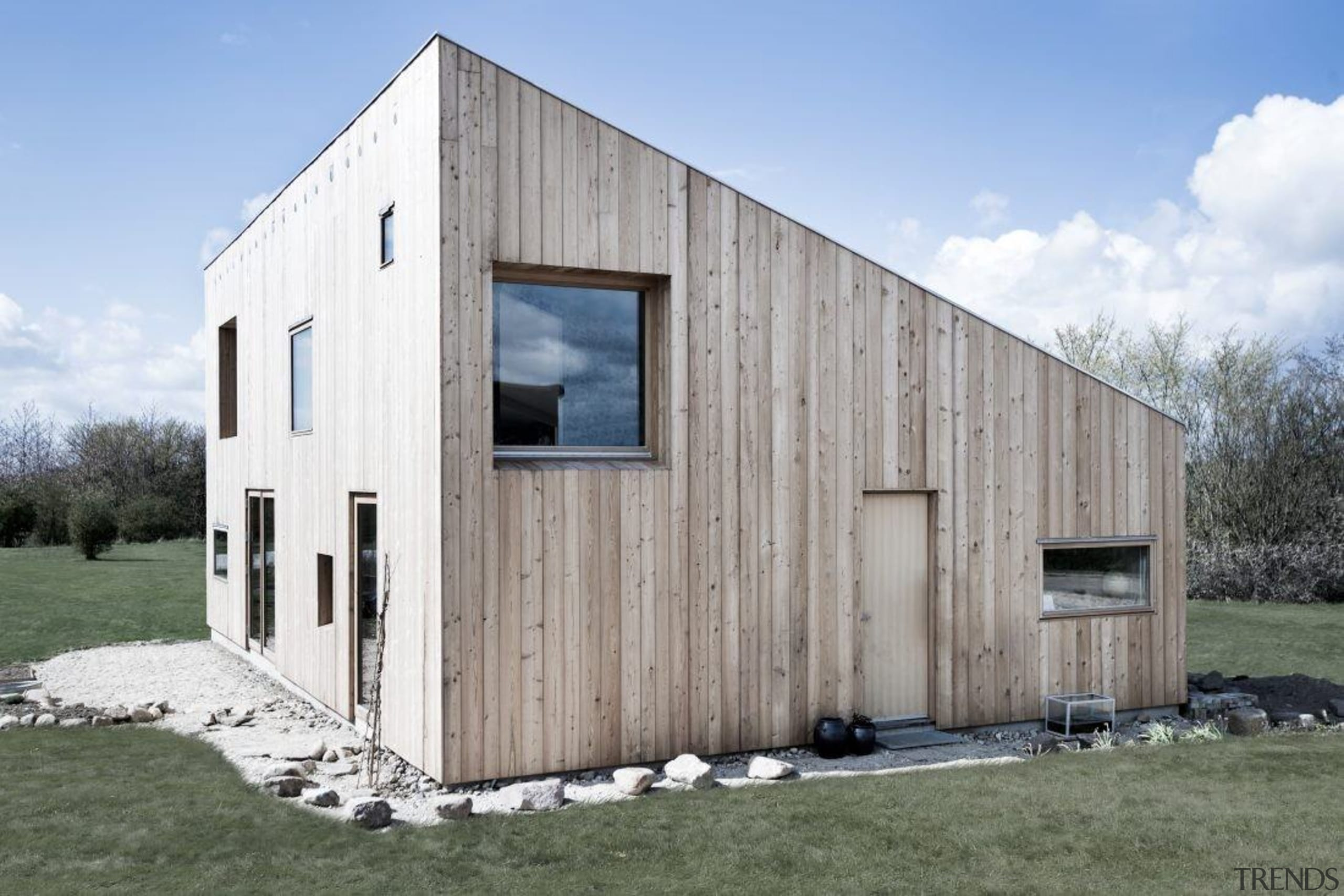 Architect: Sigured Larsen architecture, barn, facade, home, house, real estate, shack, shed, siding, gray
