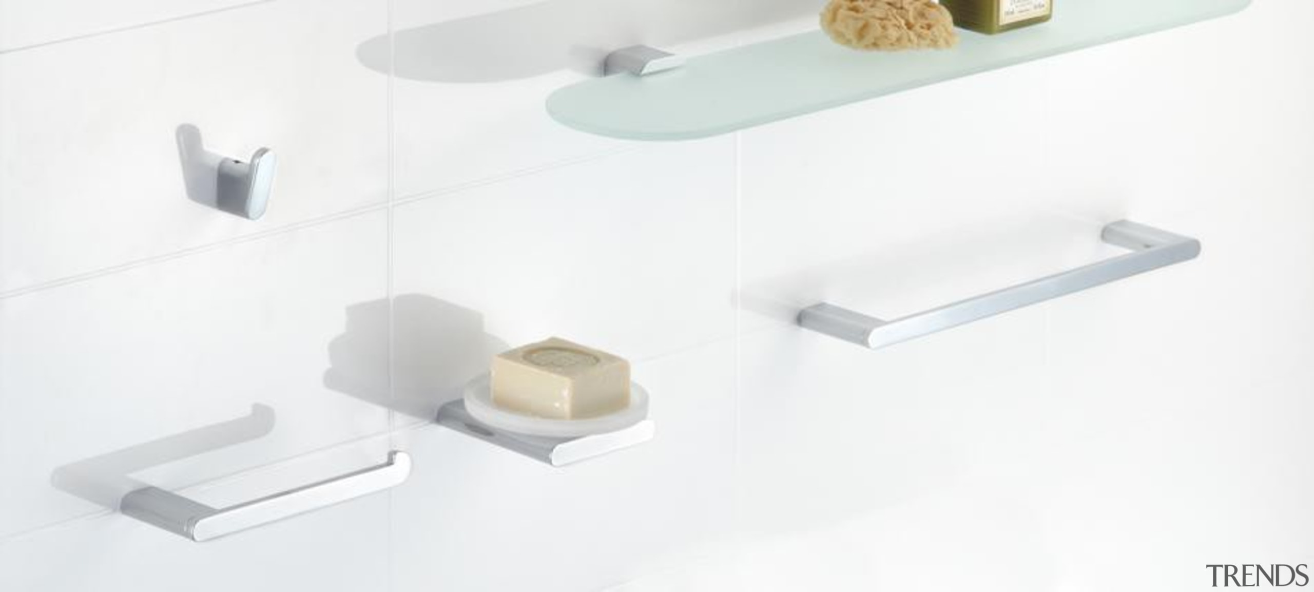 Loft Bathroom Accessories - Loft Bathroom Accessories - angle, furniture, product, product design, shelf, table, tap, white
