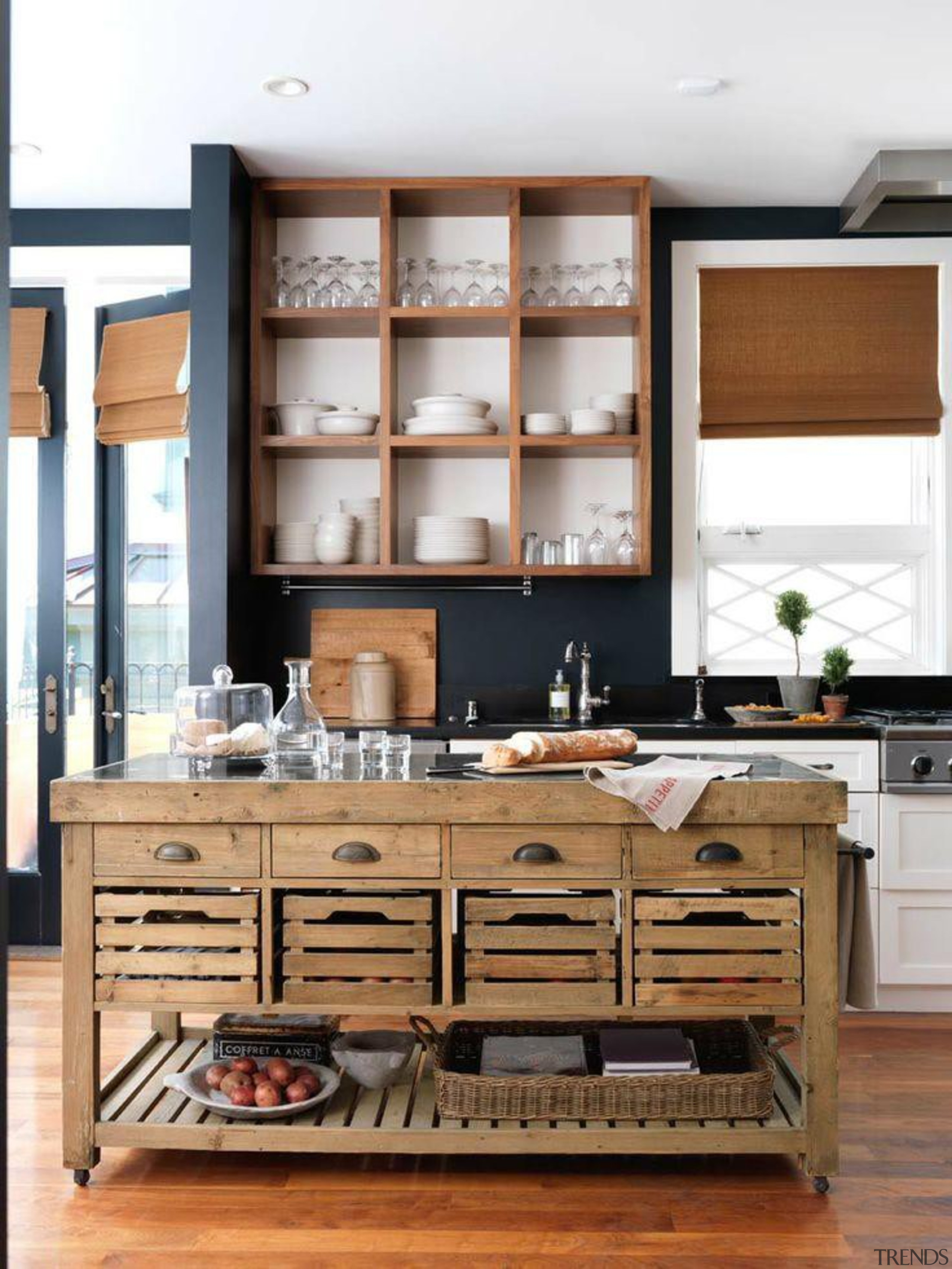 Start a myTrends ProjectCreate an ideas hub for cabinetry, countertop, cuisine classique, furniture, interior design, kitchen, room, white