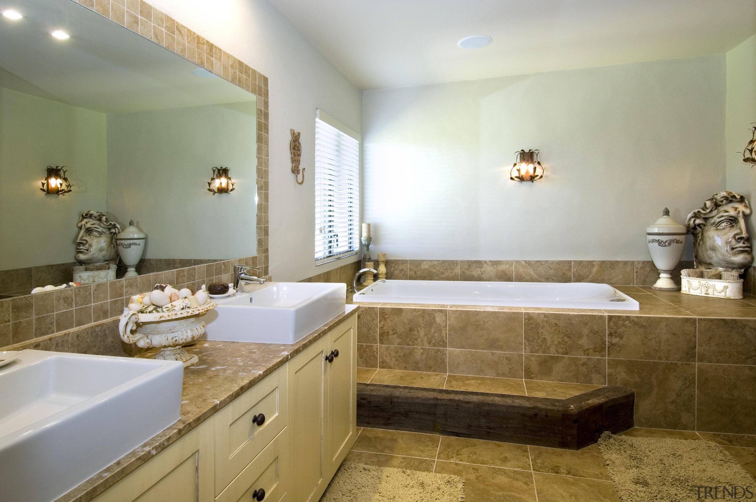 171mangawhai 14 - mangawhai_14 - bathroom | countertop bathroom, countertop, estate, floor, home, interior design, property, real estate, room, sink, tile, brown, gray