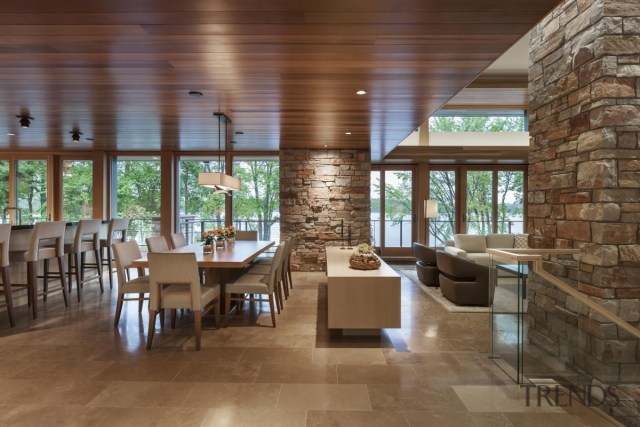 Open Plan Living For Lakefront Home Gallery 2 Trends