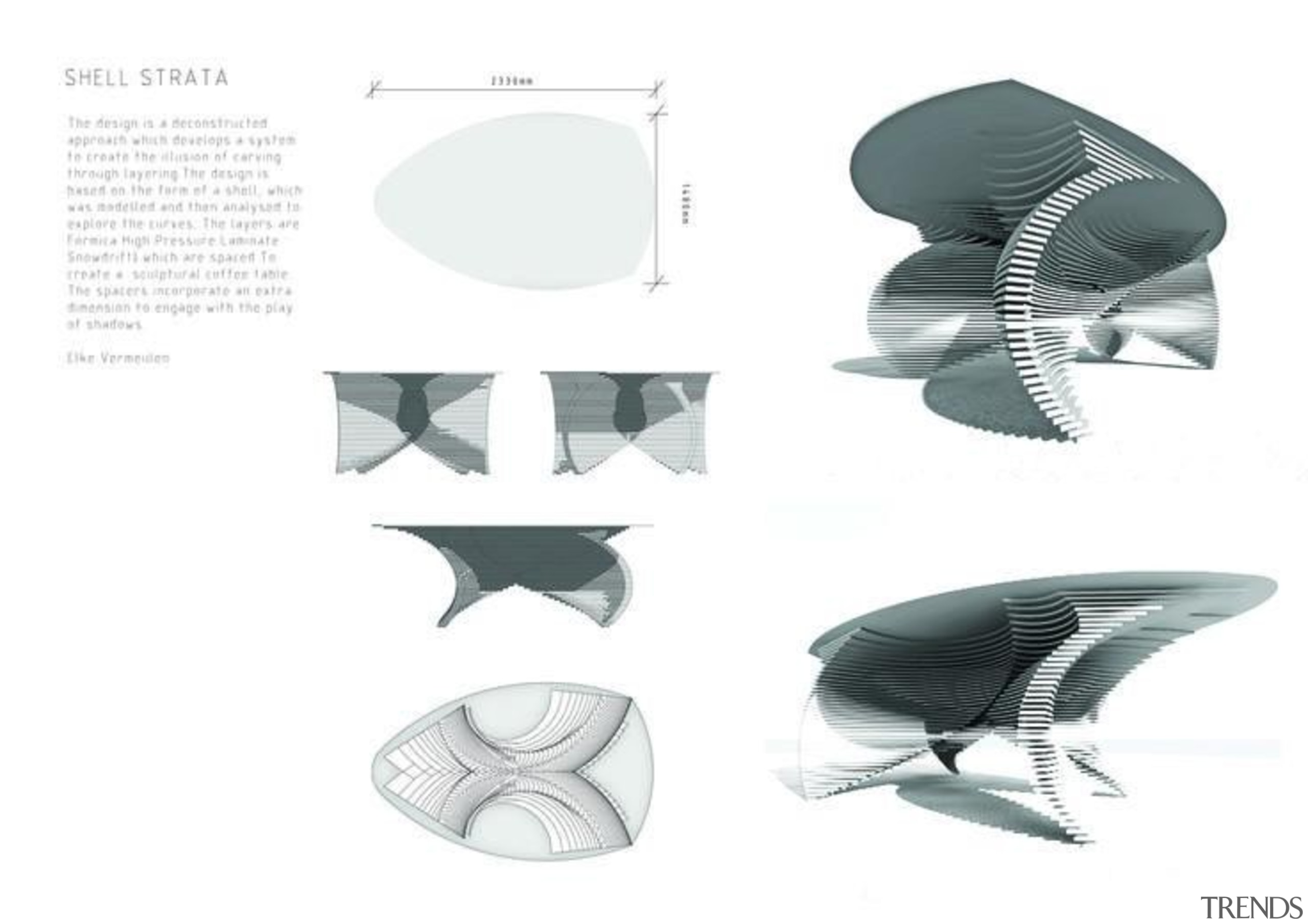 by Elke Vermeulen - Shell Strata - automotive automotive design, design, font, line, product, product design, white