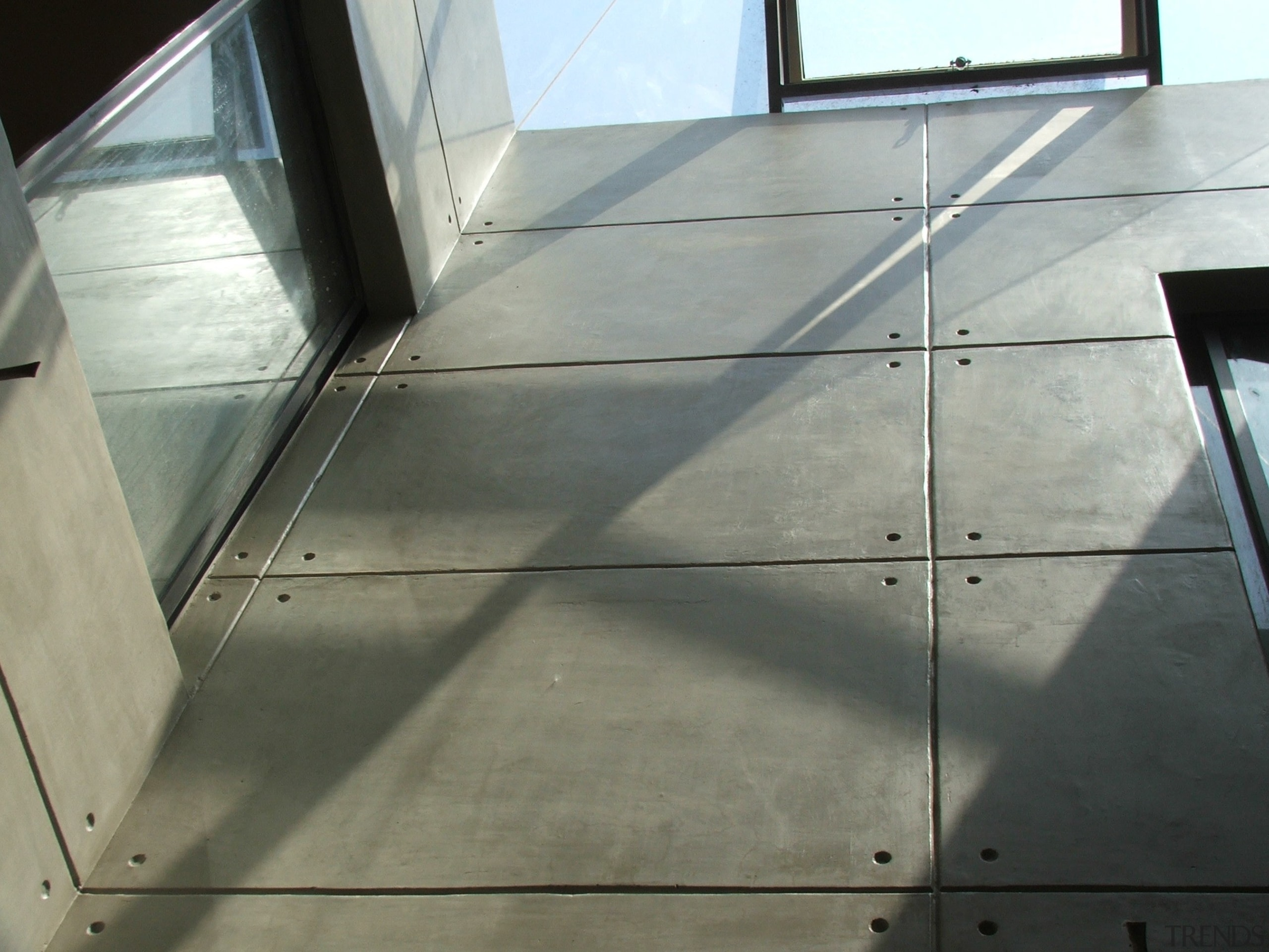Micro Topping 23 - Micro Topping_23 - architecture architecture, daylighting, floor, flooring, glass, line, structure, wood, gray