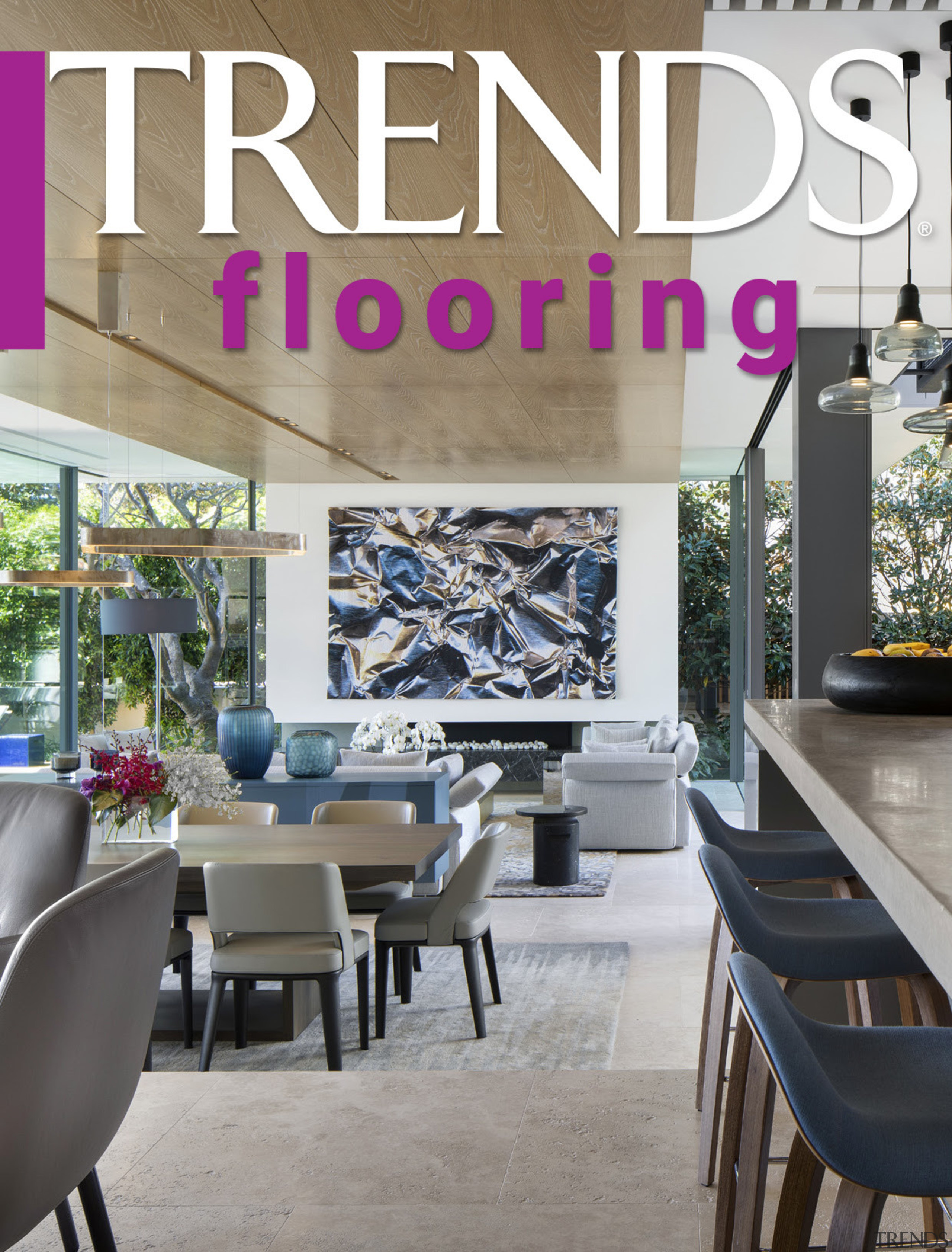 Kitchen flooring SIP - architecture   building   architecture, building, ceiling, chair, design, dining room, floor, flooring, furniture, home, house, interior design, living room, property, real estate, room, table, wall, gray