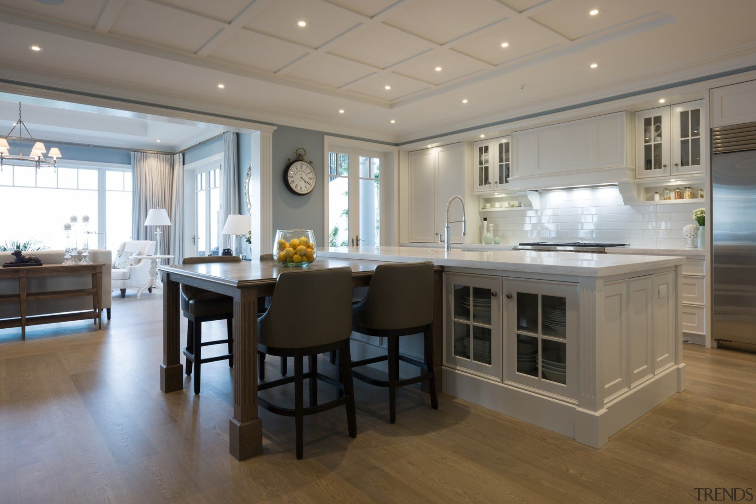 Living area - Living area - cabinetry | cabinetry, countertop, cuisine classique, floor, flooring, interior design, kitchen, real estate, room, gray
