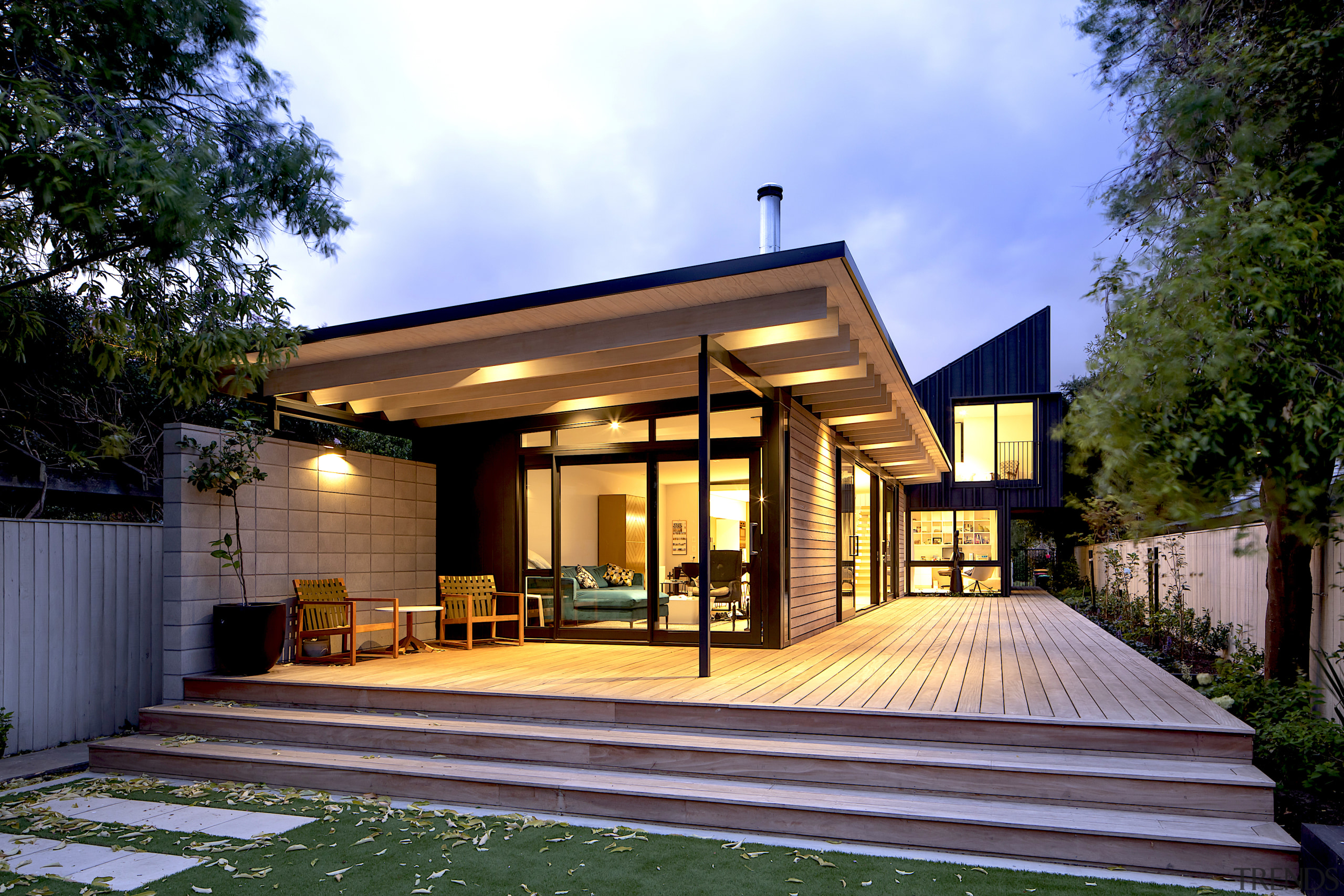 Three contrasting forms come together in this family