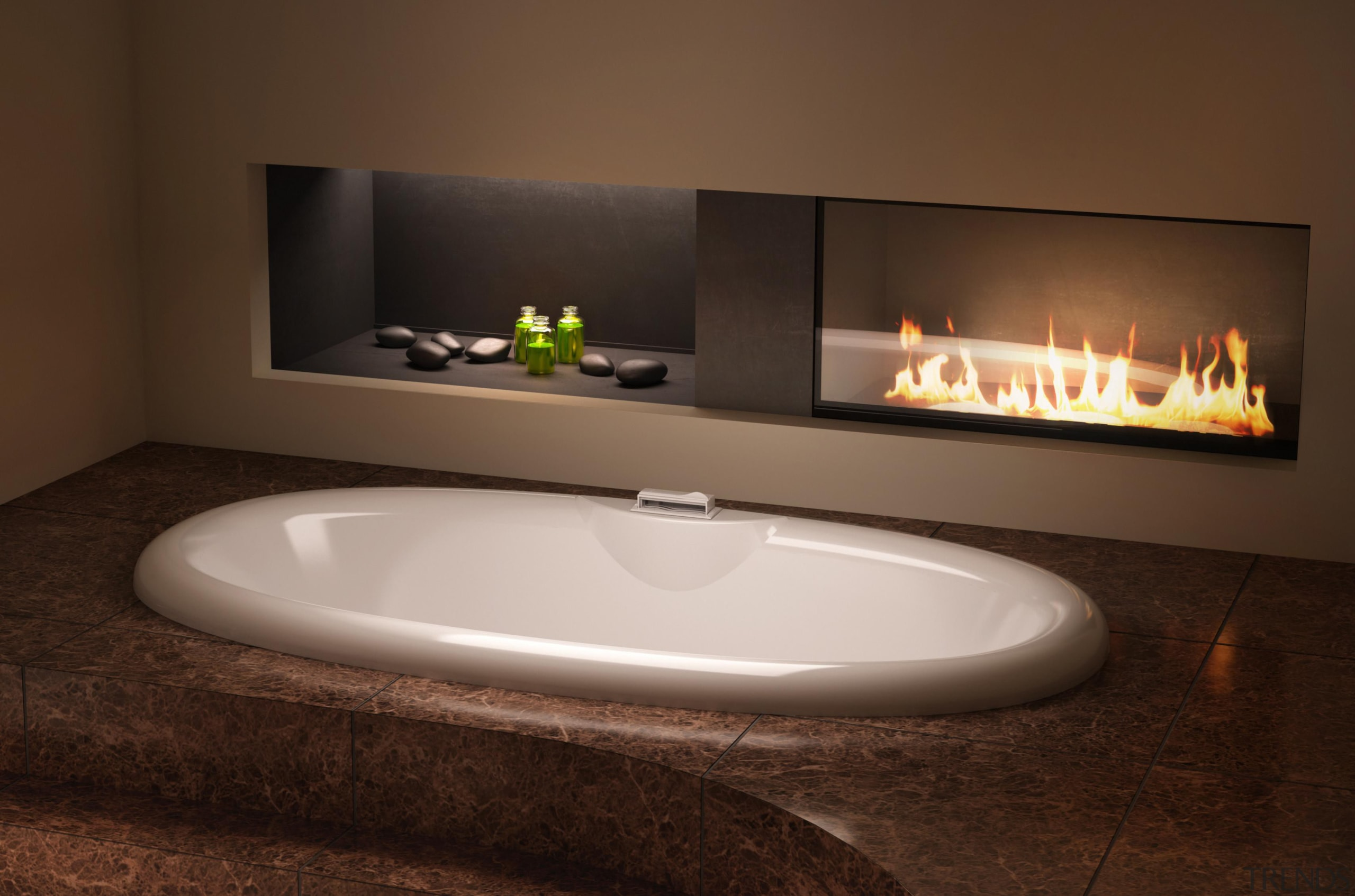 The Aromacloud diffuses a mist of essential oils hearth, product design, sink, brown
