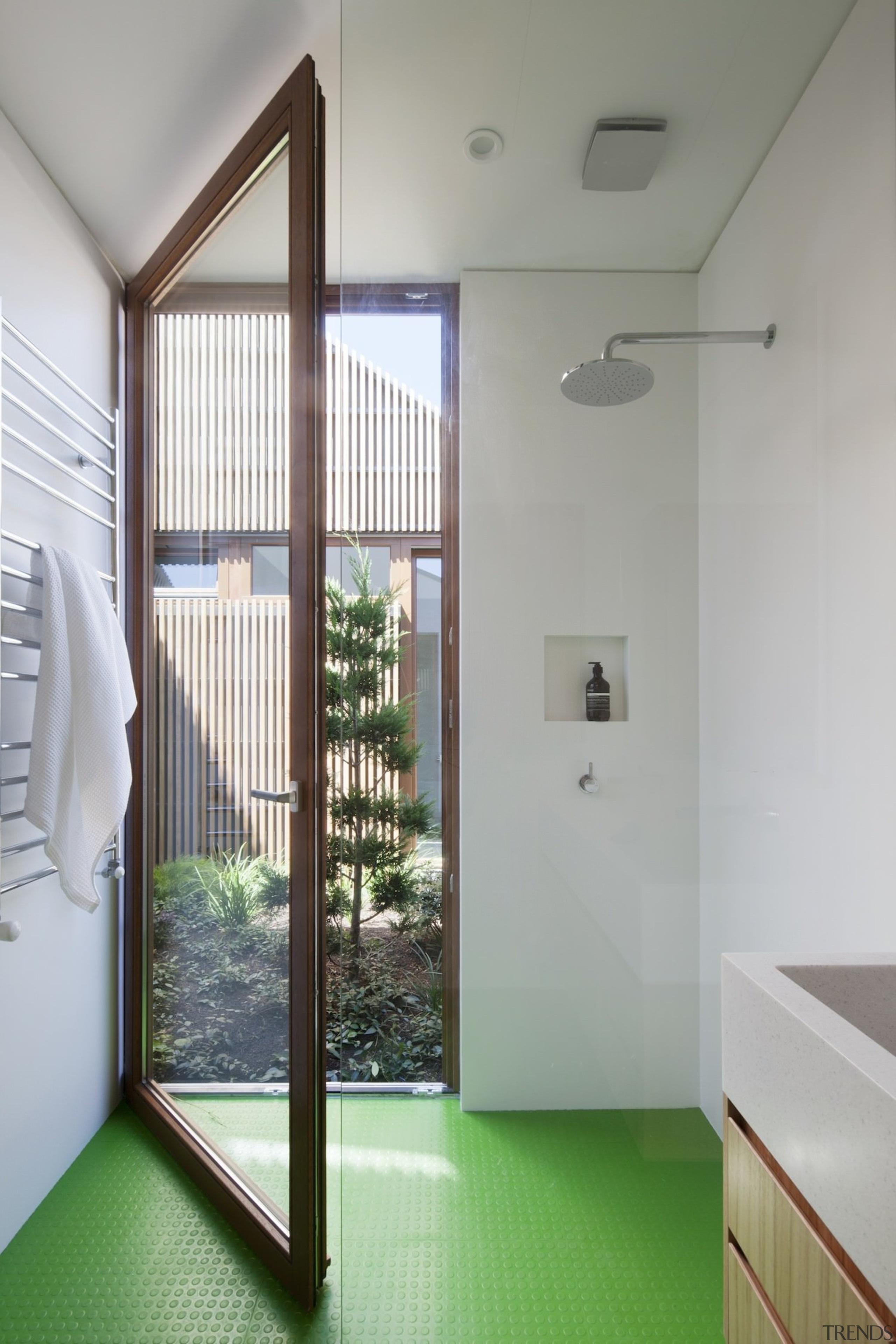 Architect: Steffen Welsch ArchitectsPhotography by Shannon McGrath architecture, ceiling, daylighting, door, floor, home, house, interior design, real estate, room, window, gray