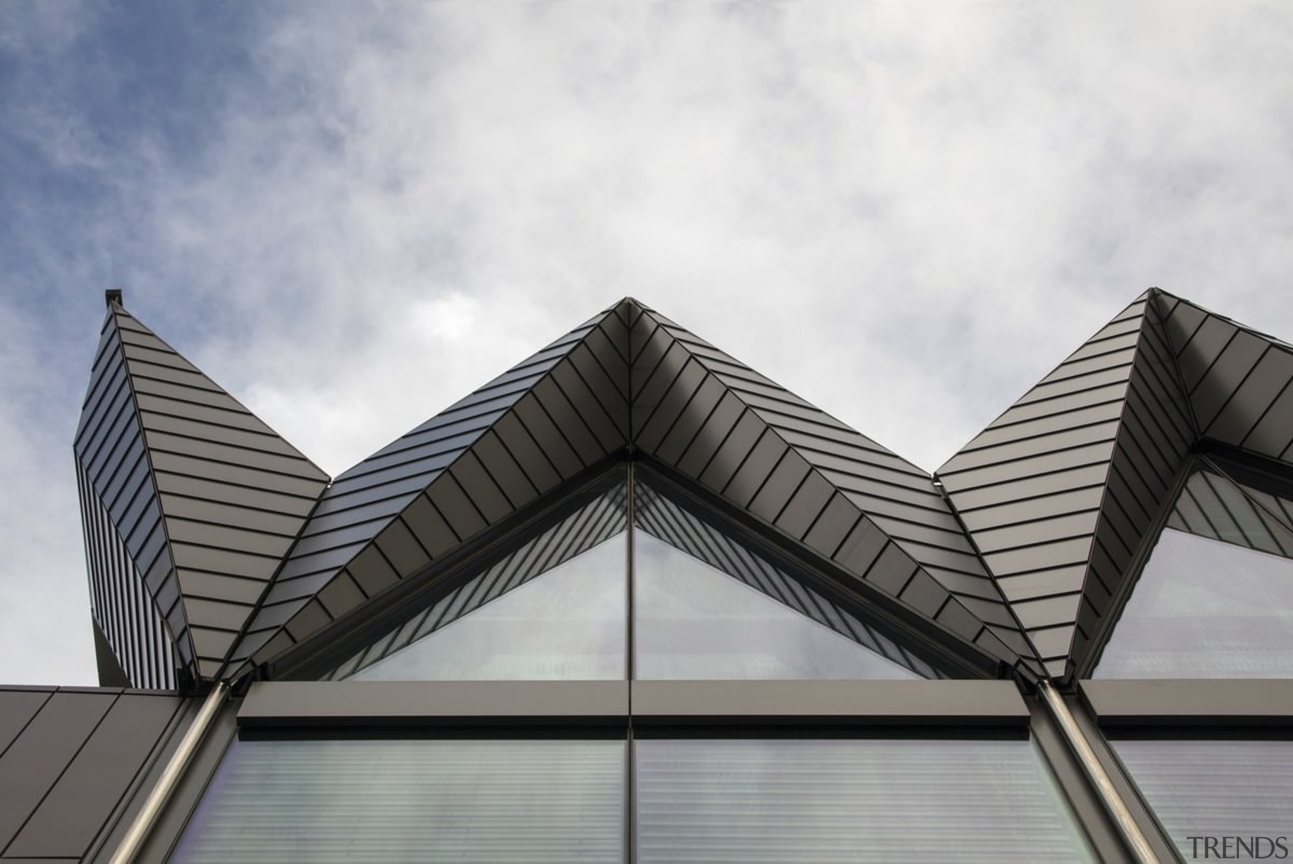 161 Sussex St – Cox Architecture - 161 angle, architecture, building, commercial building, corporate headquarters, daylighting, daytime, facade, line, roof, sky, structure, symmetry, gray