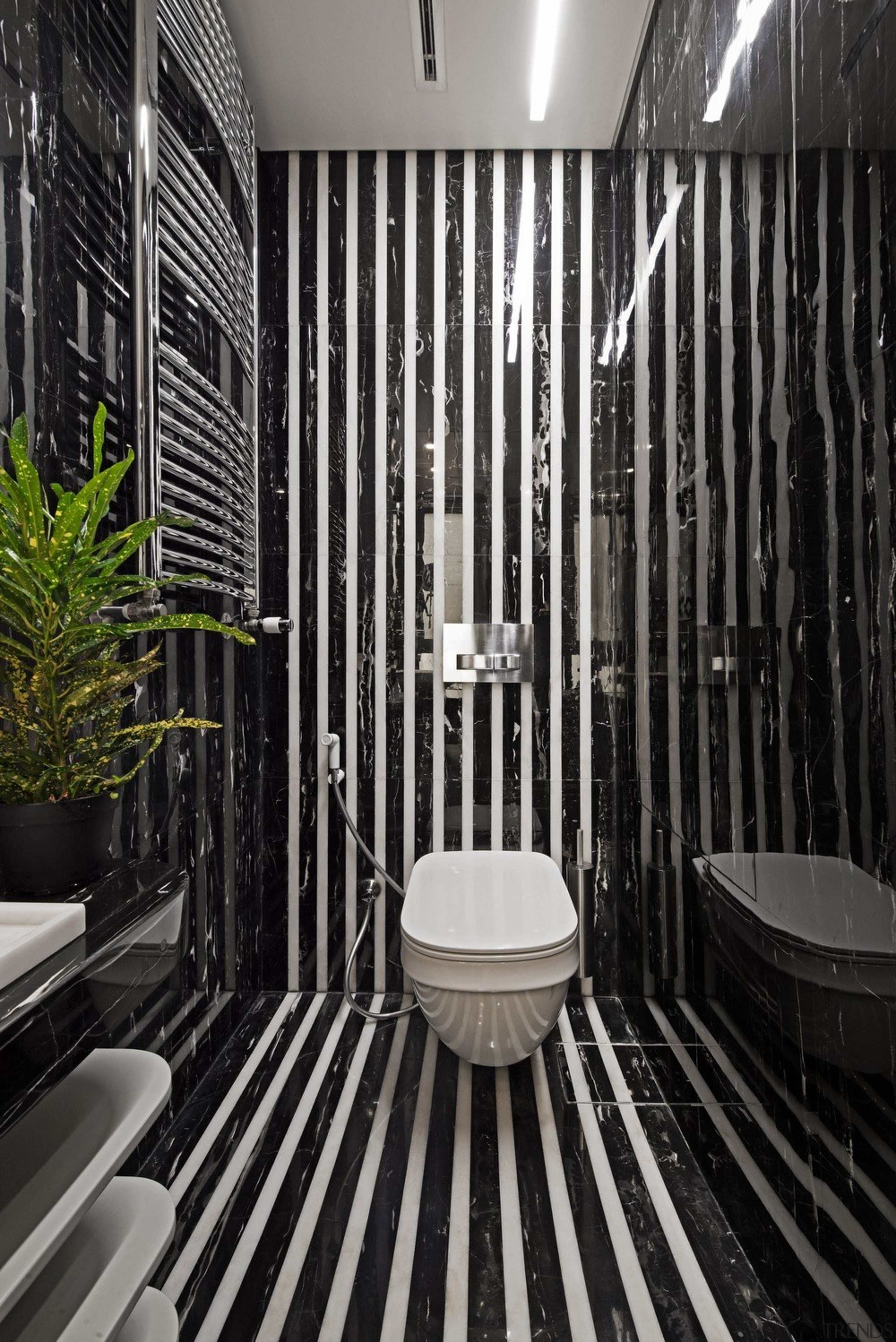 Functional for family - architecture   bathroom   architecture, bathroom, black-and-white, building, ceiling, house, interior design, line, plumbing fixture, room, black, gray