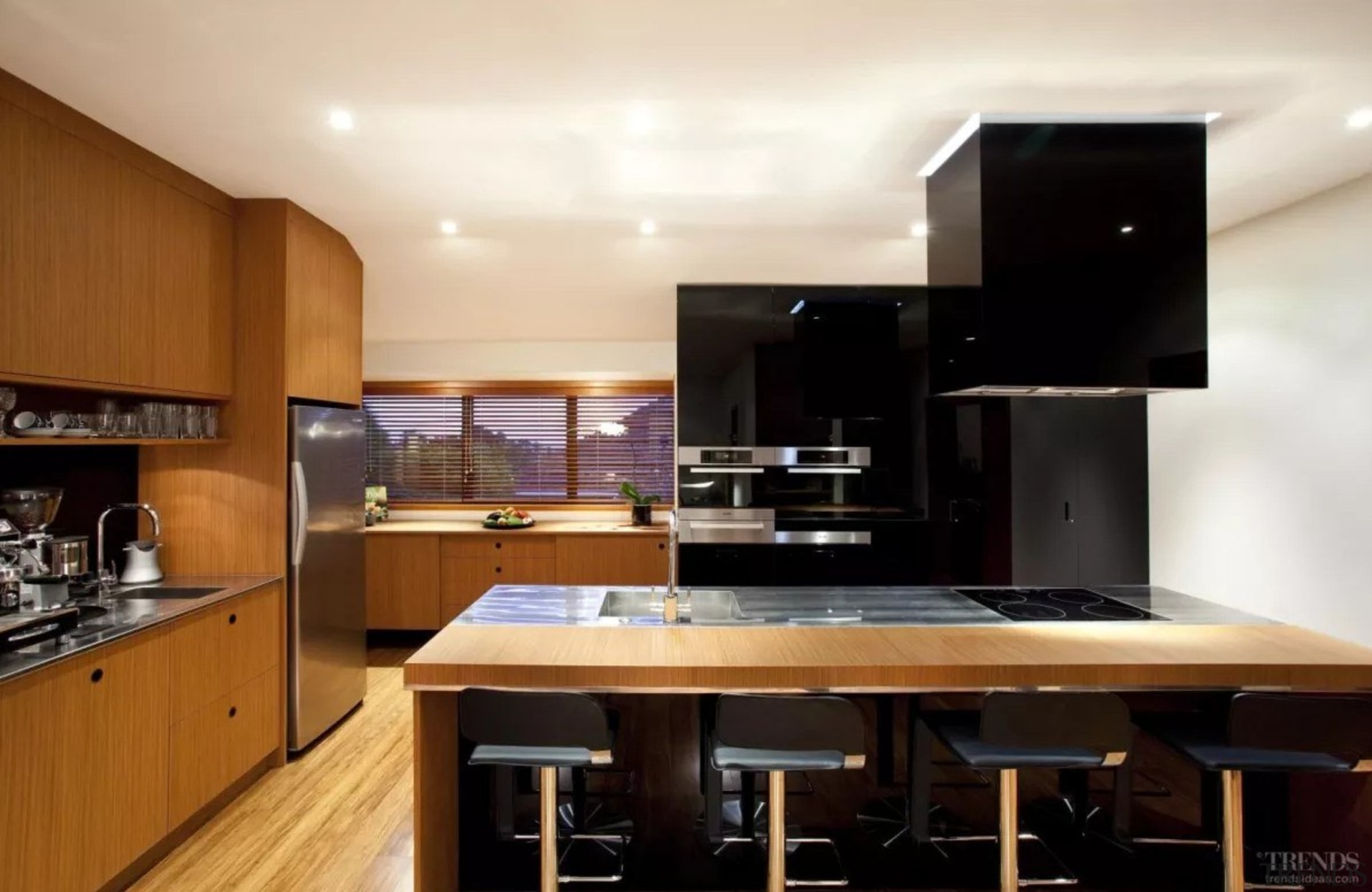 De03D Screen Shot 2017 07 25 At 115742 cabinetry, ceiling, countertop, cuisine classique, interior design, kitchen, property, real estate, black, white