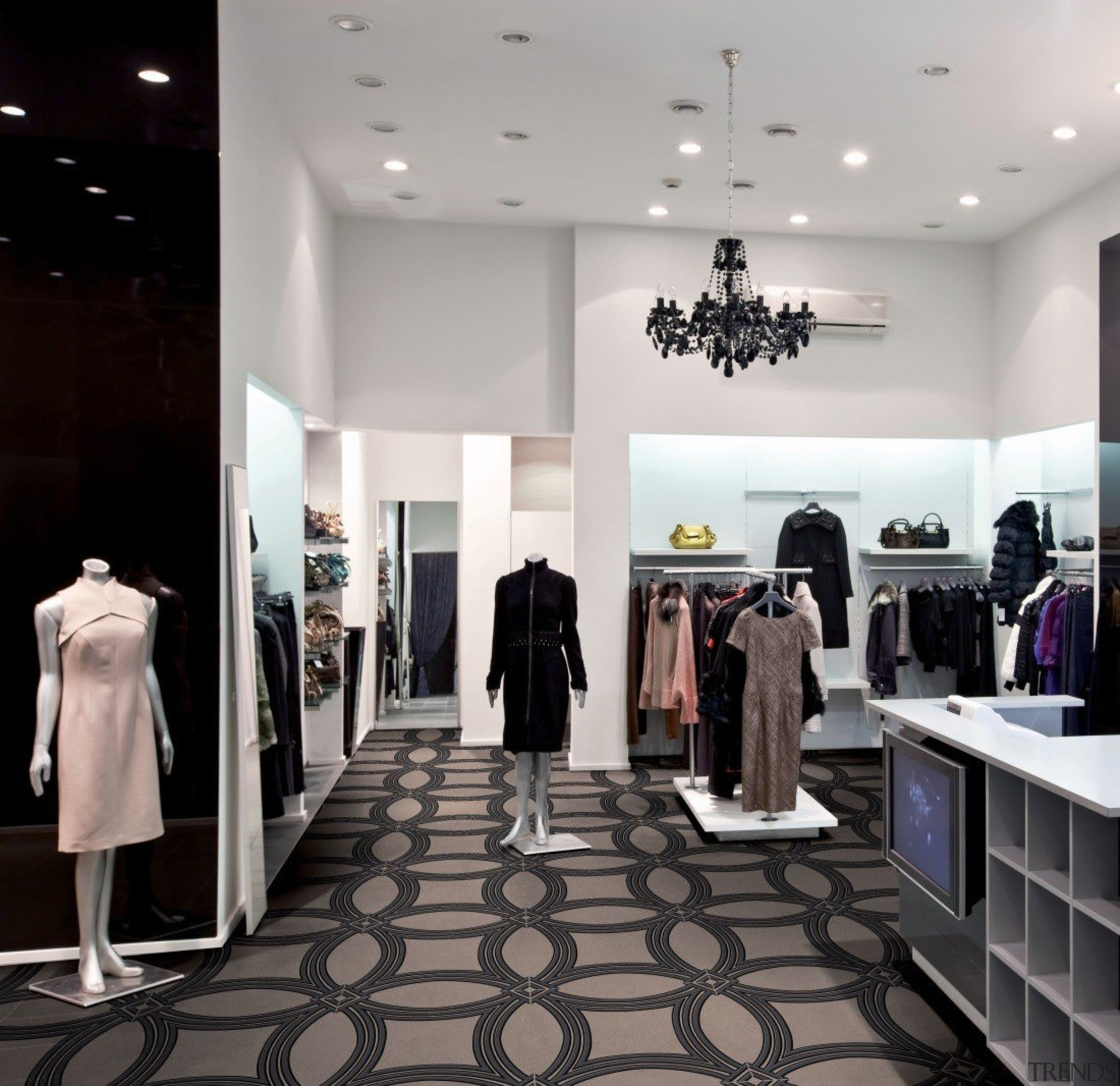 Ambient Touch - Ambient Touch - boutique | boutique, ceiling, fashion, floor, flooring, interior design, retail, gray, black