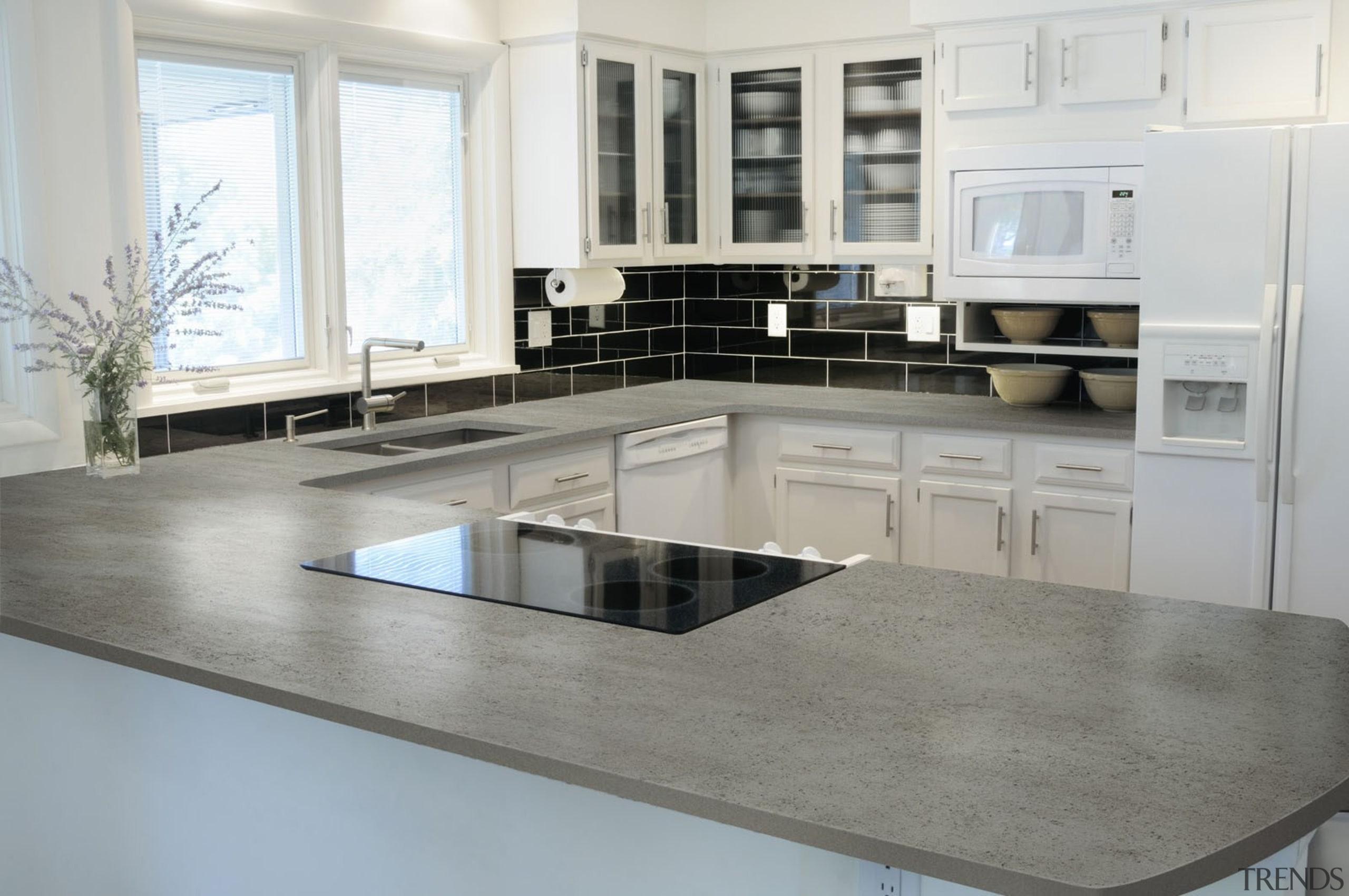 Dekton Keon - Dekton Keon - countertop   countertop, cuisine classique, floor, flooring, interior design, kitchen, gray