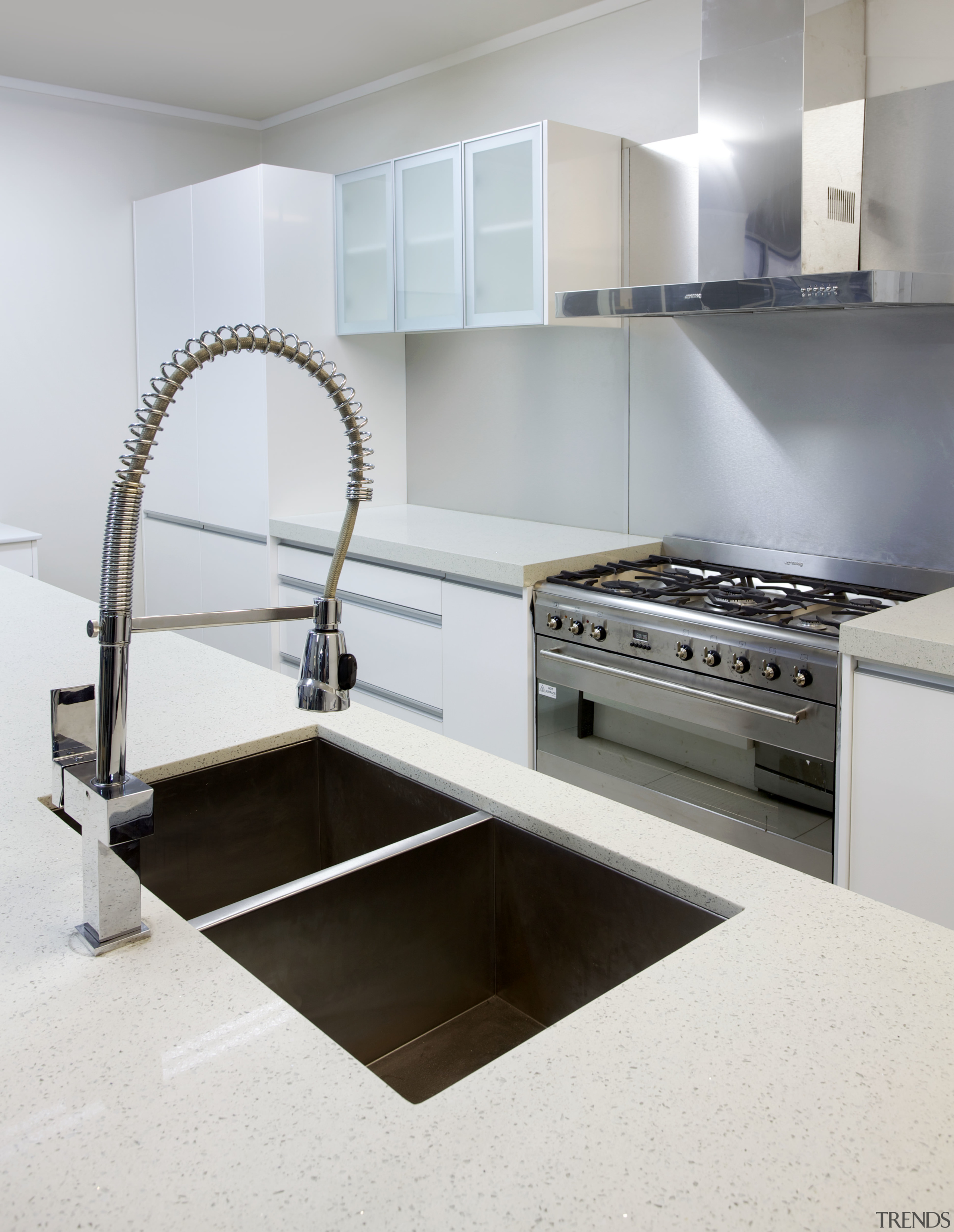 Undermounted Twin Stainless Steel Sinks Andh Indus Trends