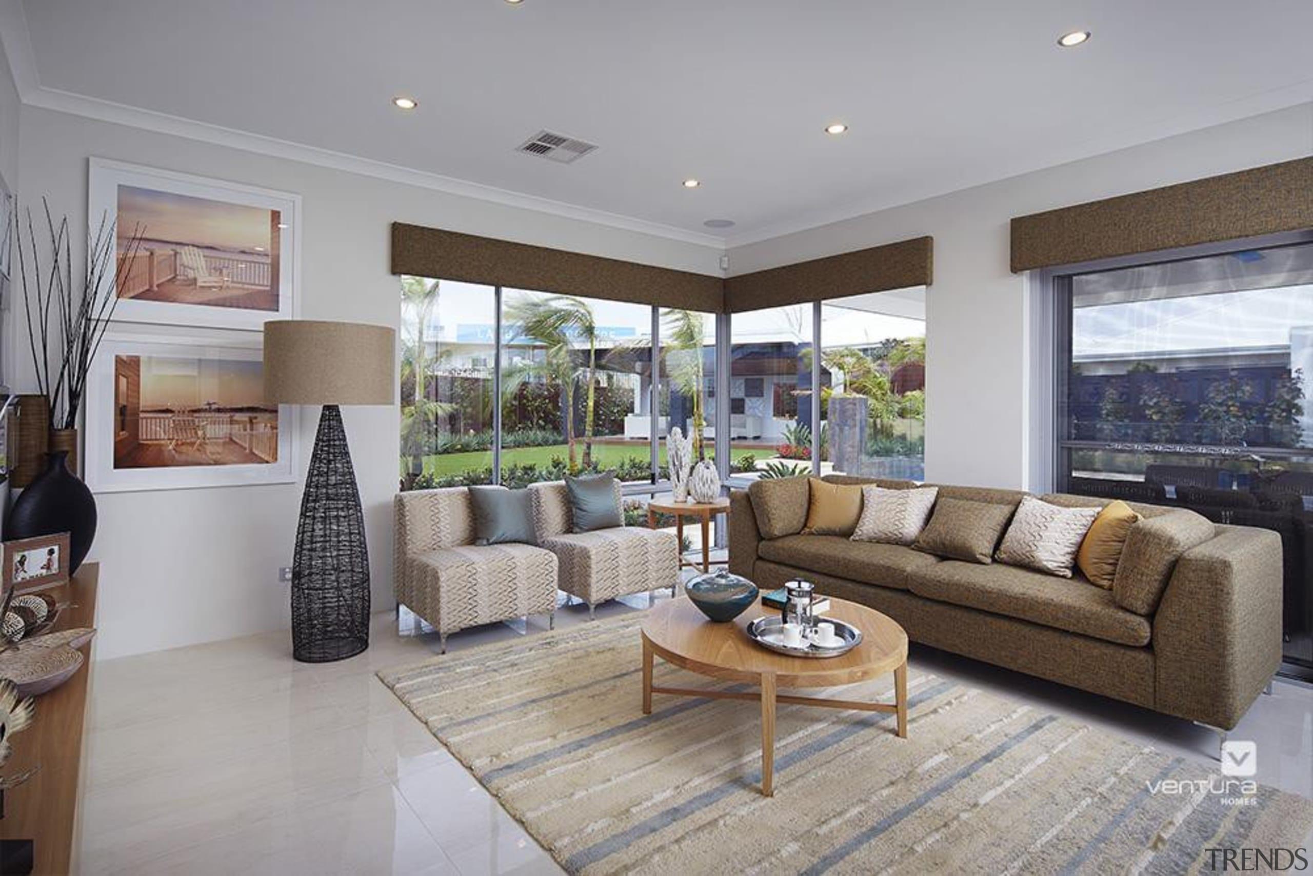 Living Room Design. - The Meridian Two Storey estate, floor, home, house, interior design, living room, property, real estate, room, window, gray
