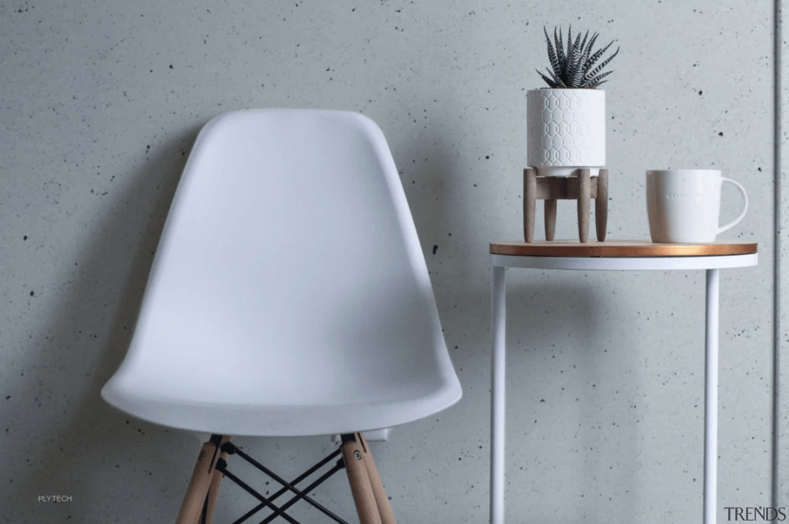 They're available in Classic Grey, Urban Grey, and chair, furniture, table, tap, wall, gray