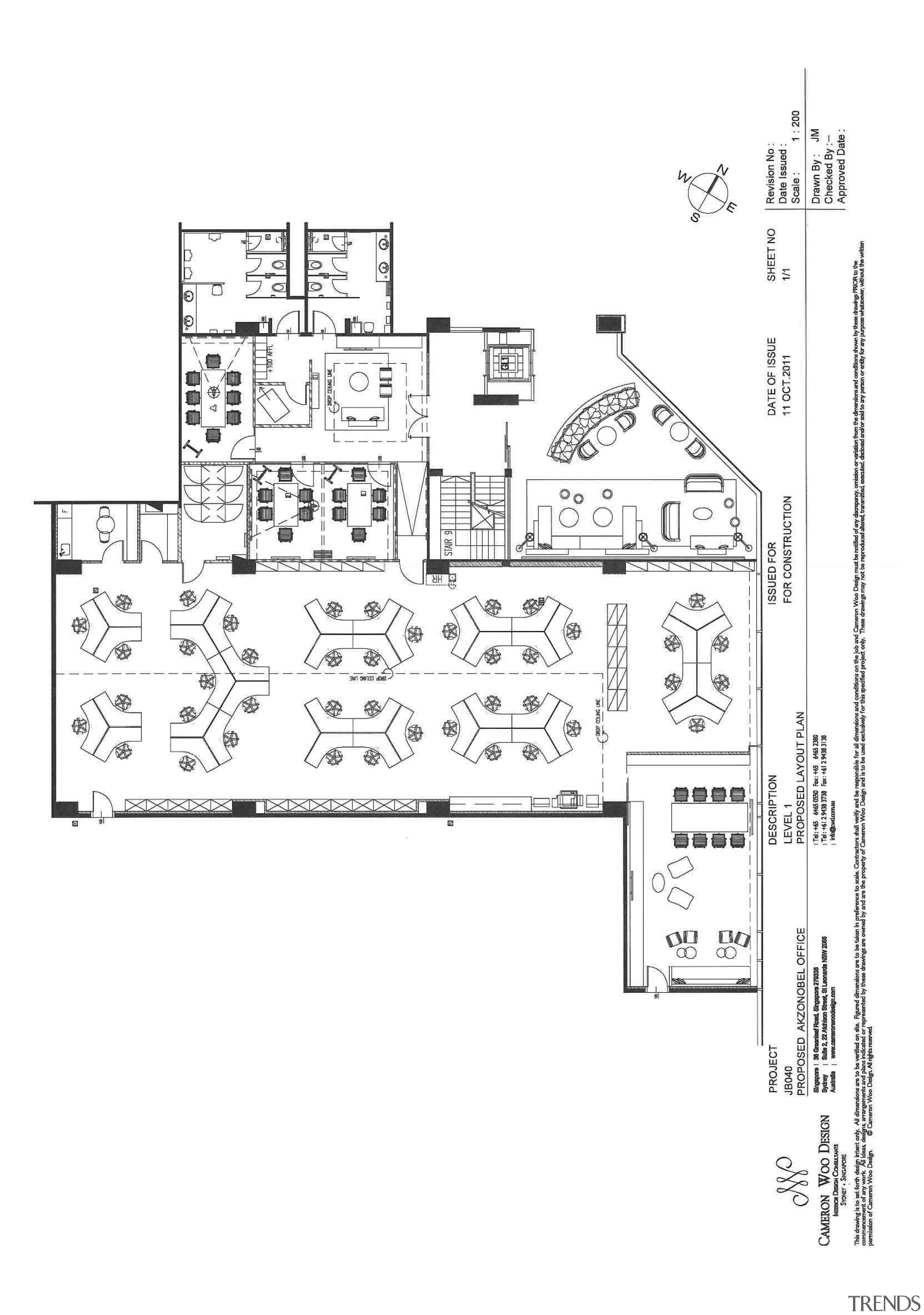 AkzoNobel House (Singapore) Interior design - AkzoNobel House area, artwork, black and white, design, diagram, drawing, floor plan, font, line, line art, plan, product design, schematic, technical drawing, text, white