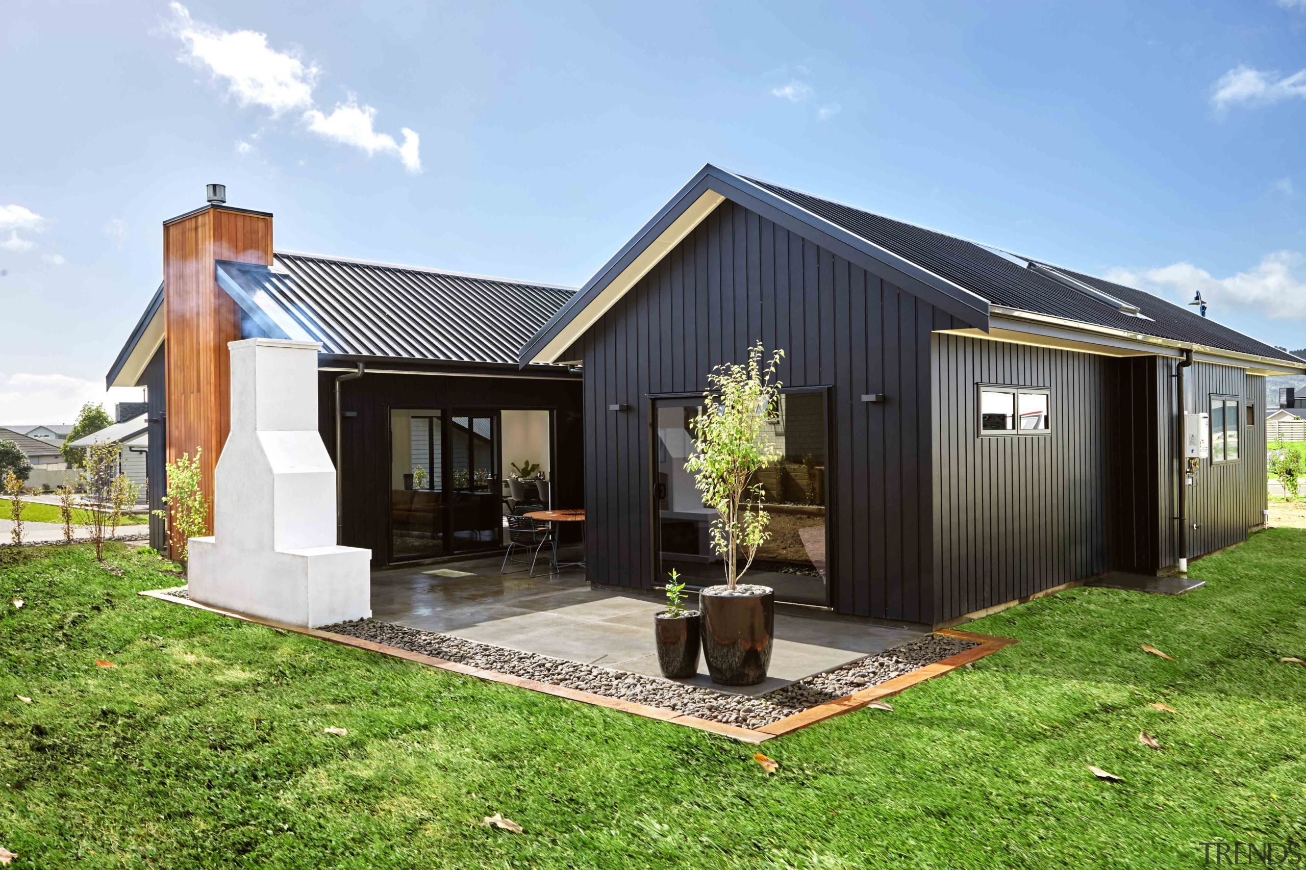 James Hardie Weatherboard - James Hardie Weatherboard - backyard, cottage, facade, farmhouse, home, house, property, real estate, shed, teal