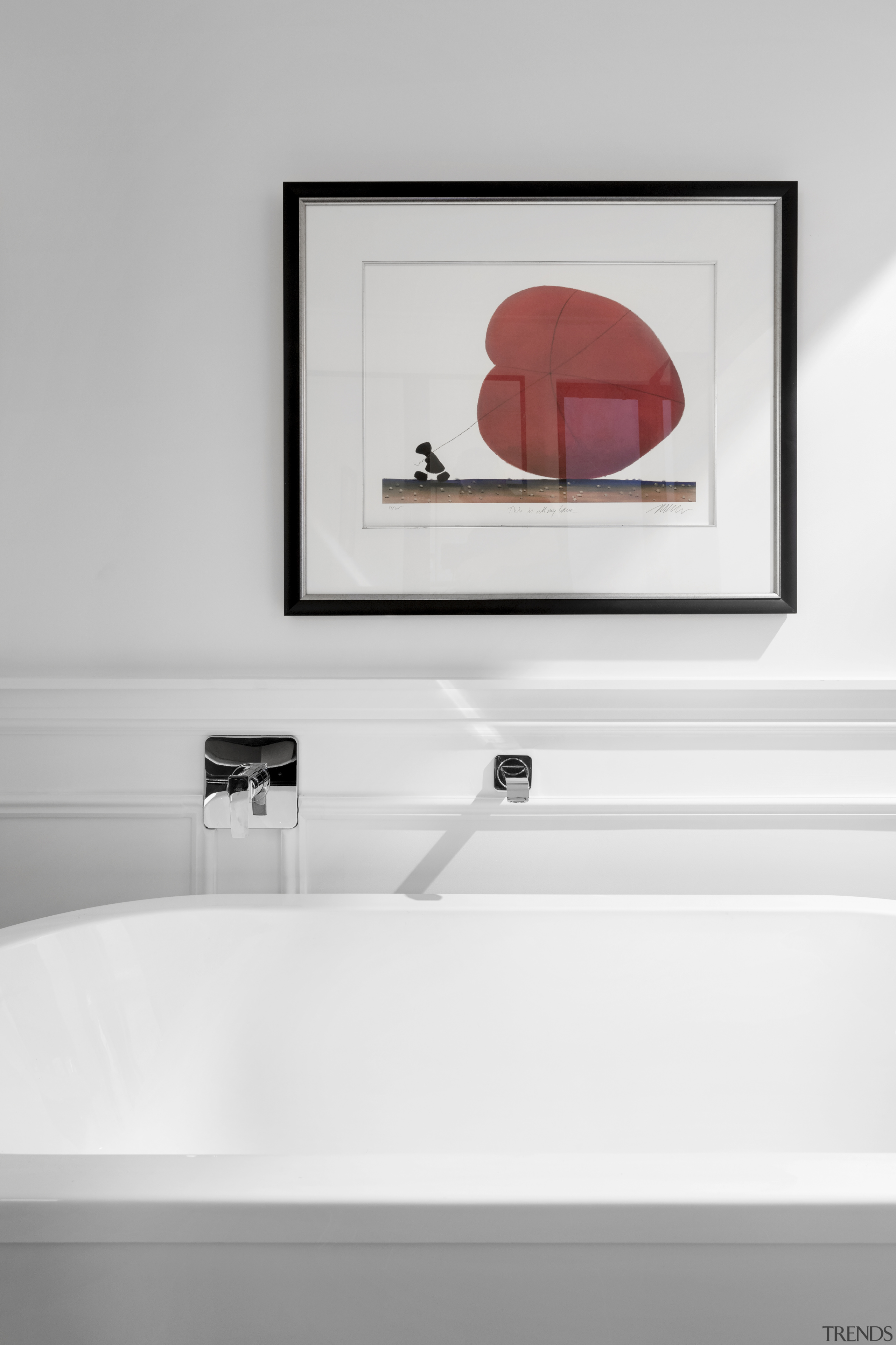 2018 TIDA Australia Designer Bathroom Winner – Leon bathroom, bathroom accessory, plumbing fixture, sink, tap, white