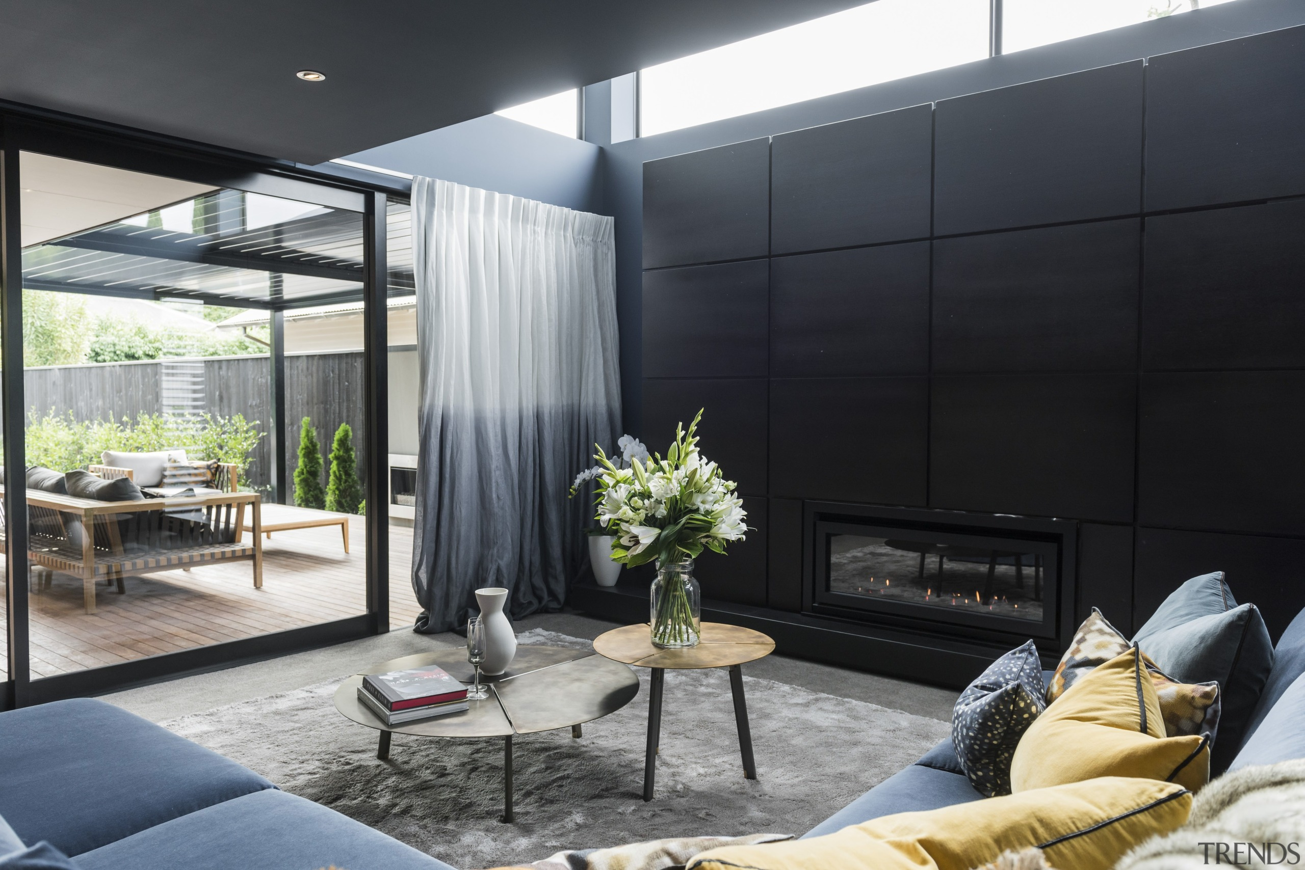 TIDA NZ 2017 – Designer new home winner architecture, home, house, interior design, living room, real estate, window, black, gray
